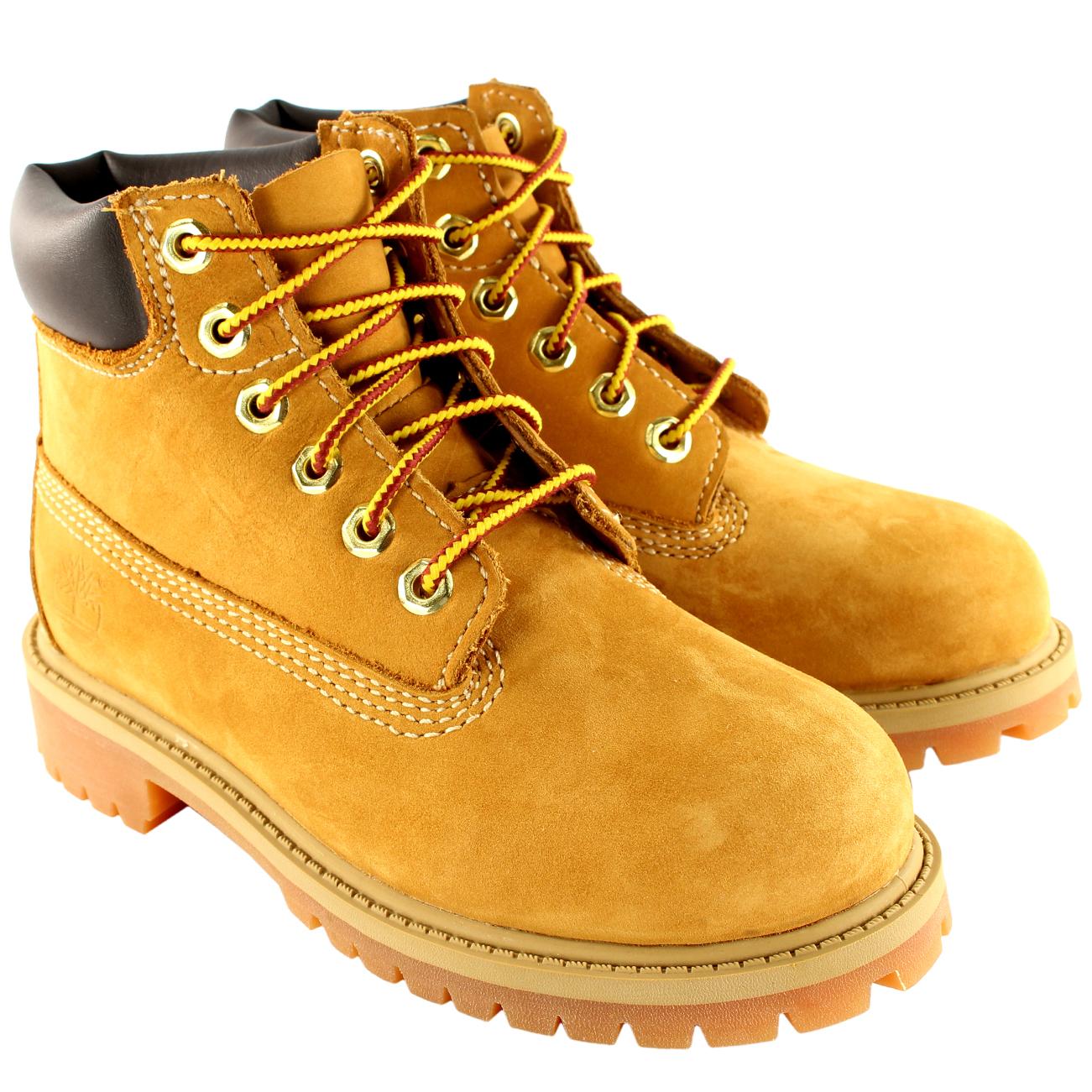 "Unisex Kids Timberland Classic 6"" Original Wheat Boots"