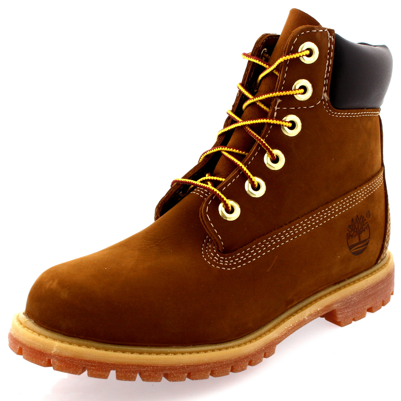 Beautiful Timberland Earthkeepers Rugged Original Leather Boots - Dark Brown | Free Delivery*