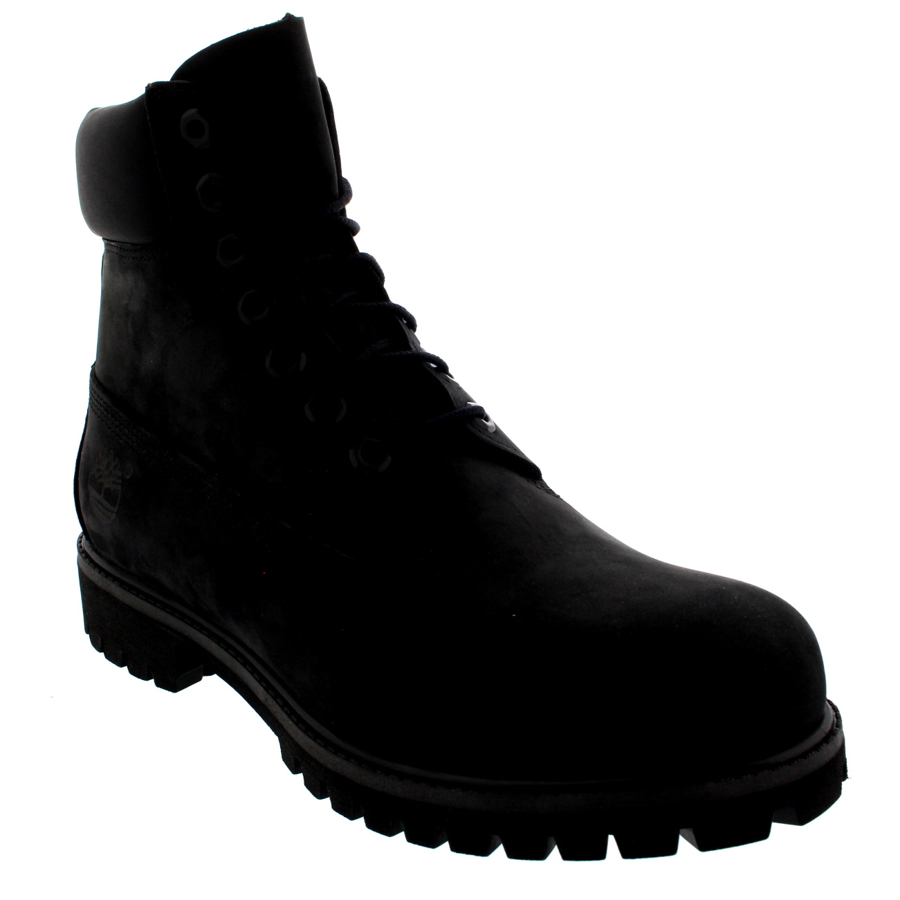 mens timberland 6 inch premium black suede lace up ankle