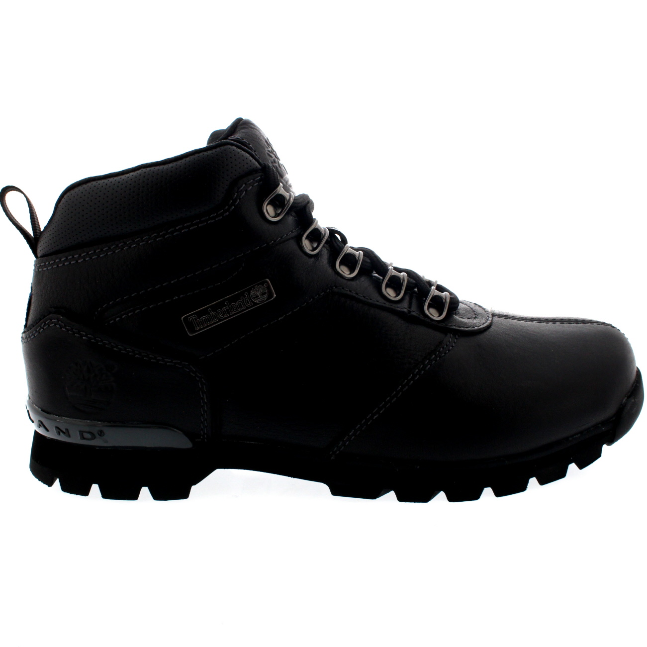mens timberland splitrock 2 hiking black leather walking