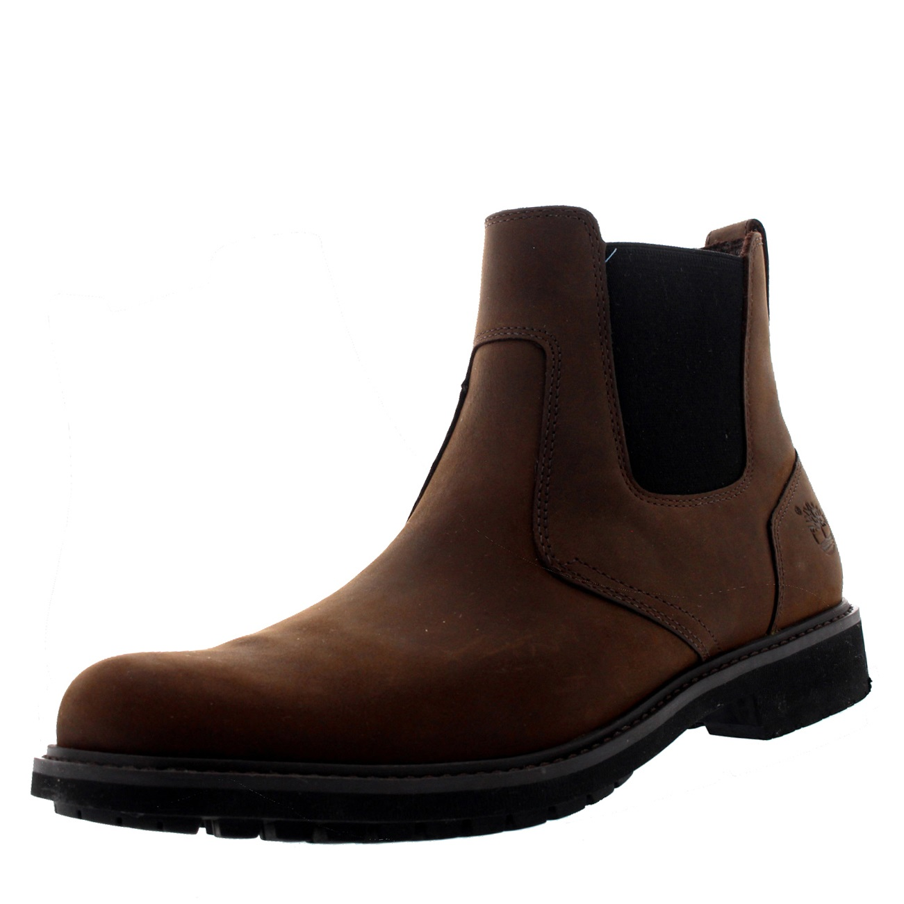Product Features Leather Upper Pull-On Tab For Slipping On and Off Slip-On Dealer Boot.