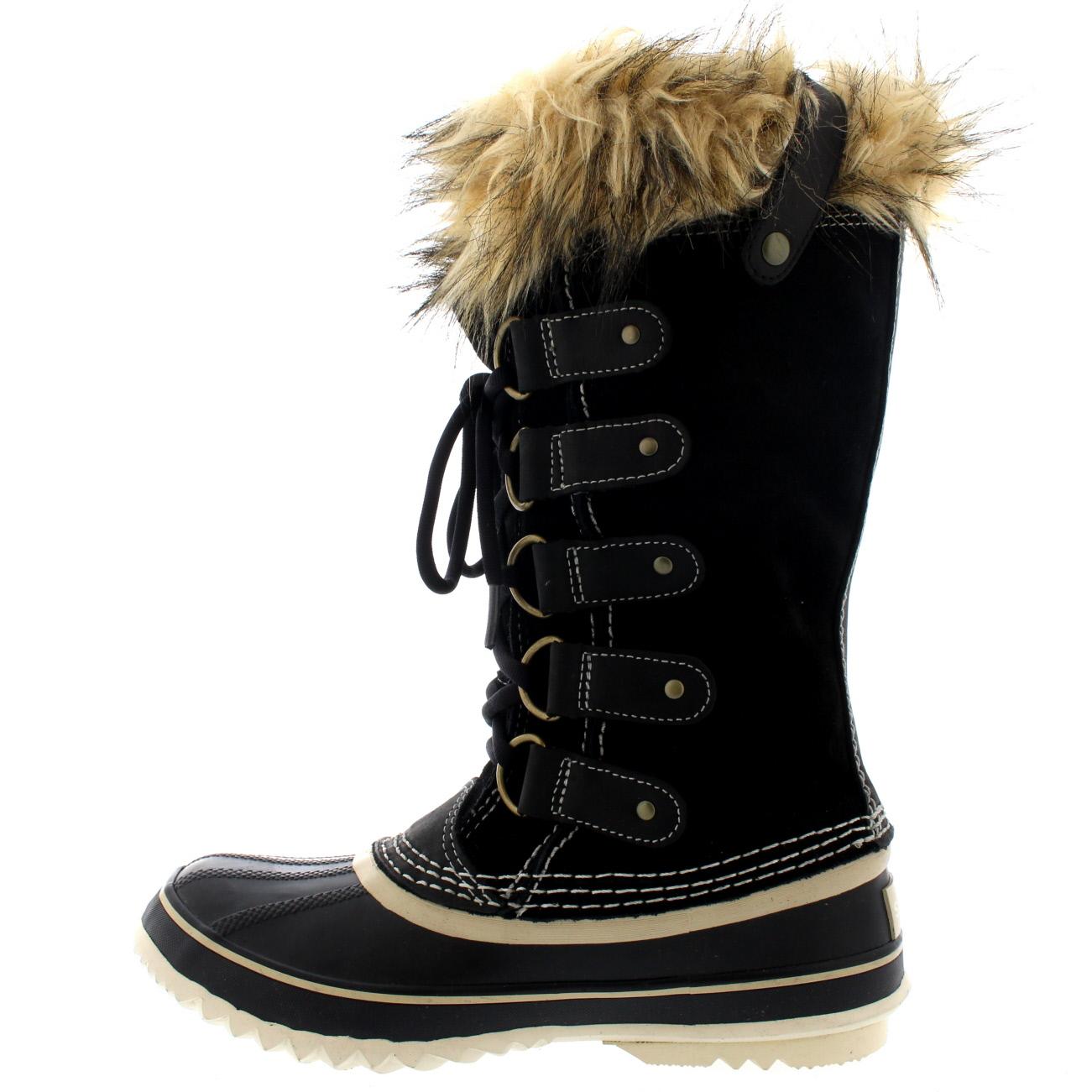 womens sorel joan of arctic snow winter waterproof mid