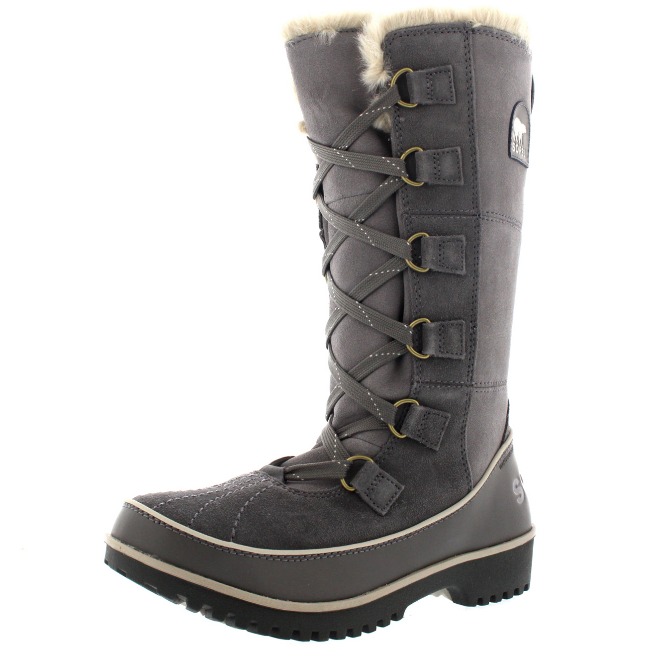 Brilliant  Sorel Tofino Cate Winter Snow Rain Mid Calf Waterproof Duck Boots UK 3