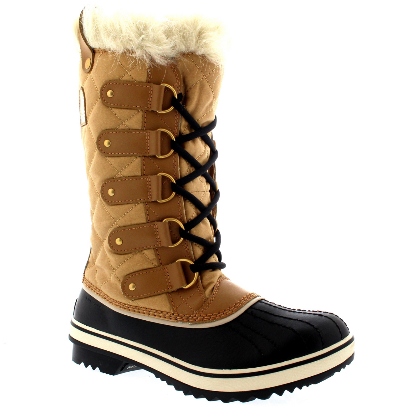 New Sorel Caribou Women39s Winter Snow Boots UK 85 Tusk