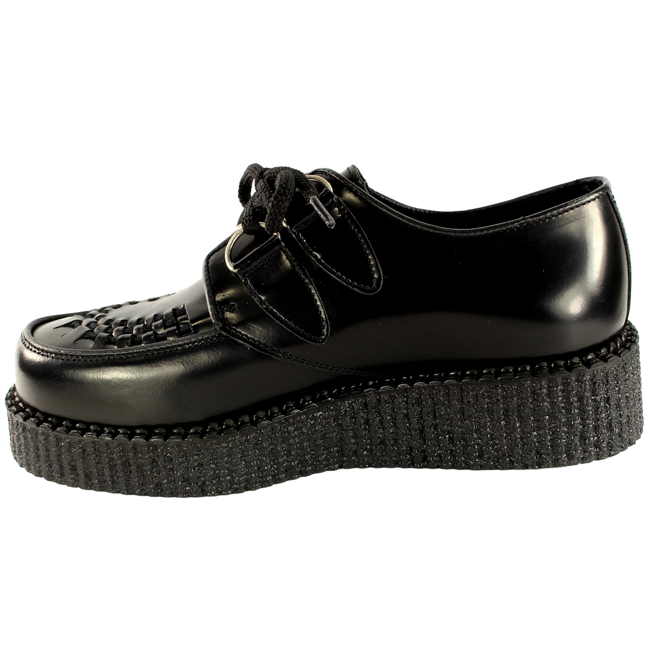 womens underground creepers wulfrun leather lace up