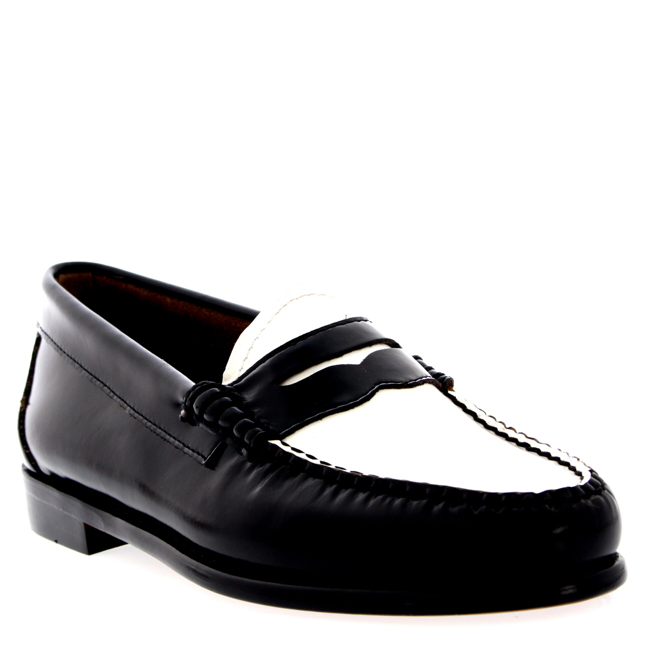 womens g h bass weejuns leather smart loafers office