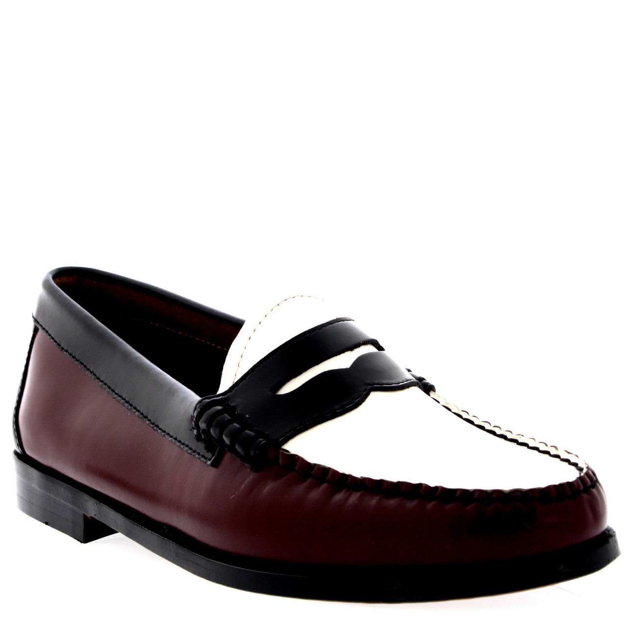 G.H Bass Weejuns Penny Bordo Leather