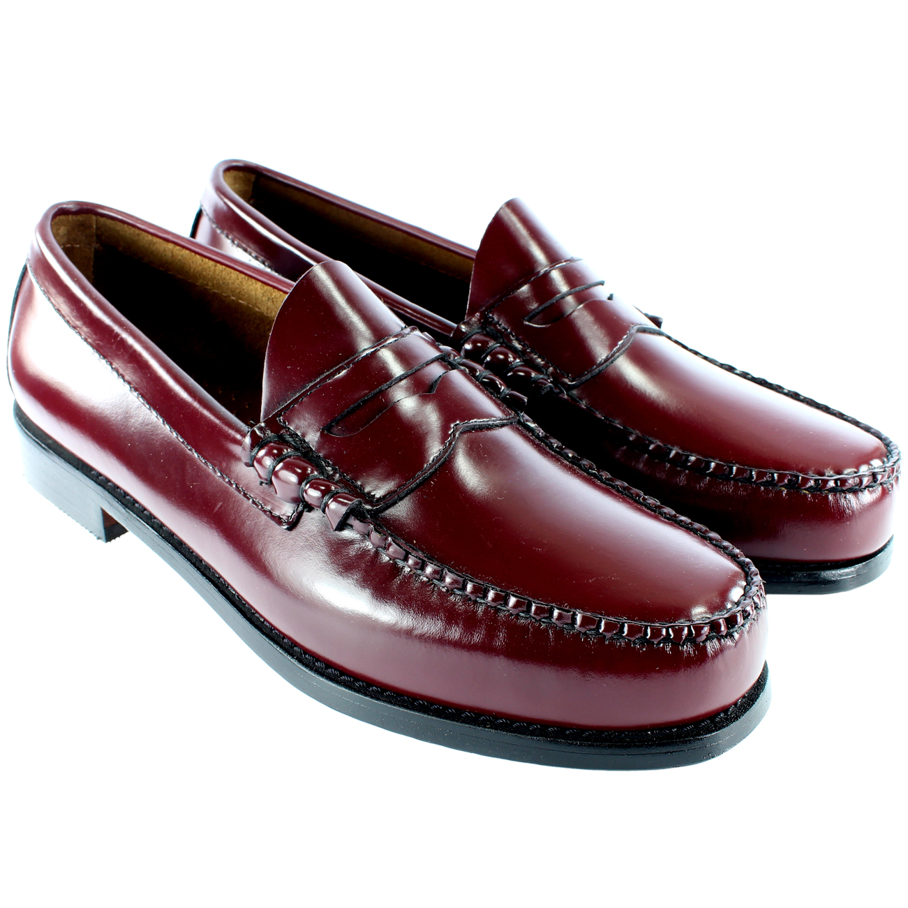 Mens Bass Larson Penny Loafer Shoes
