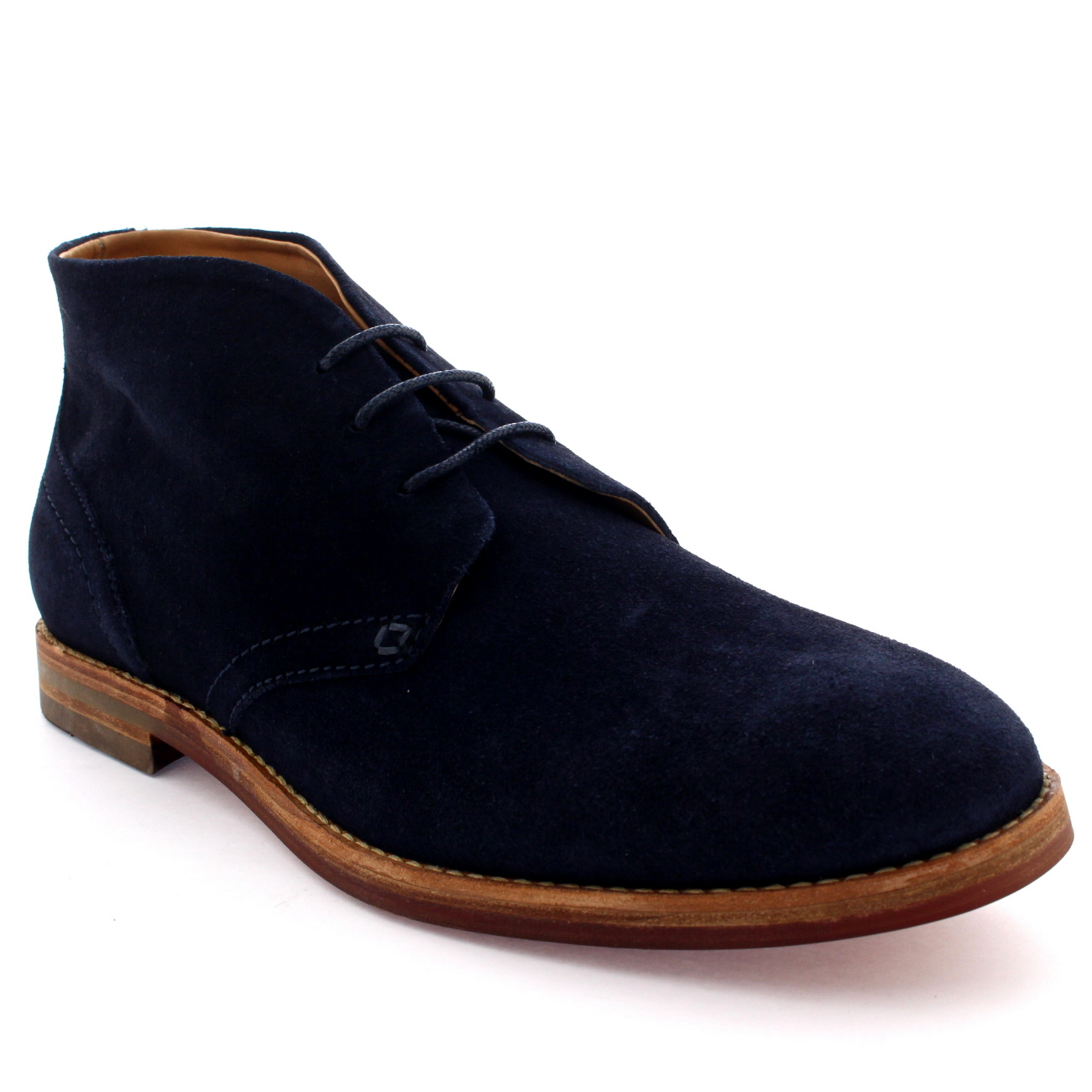 mens h by hudson houghton 3 leather suede work smart