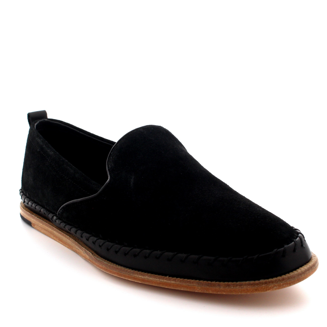 Mens H By Hudson Macuco Suede Slip On Espadrille Flat ...