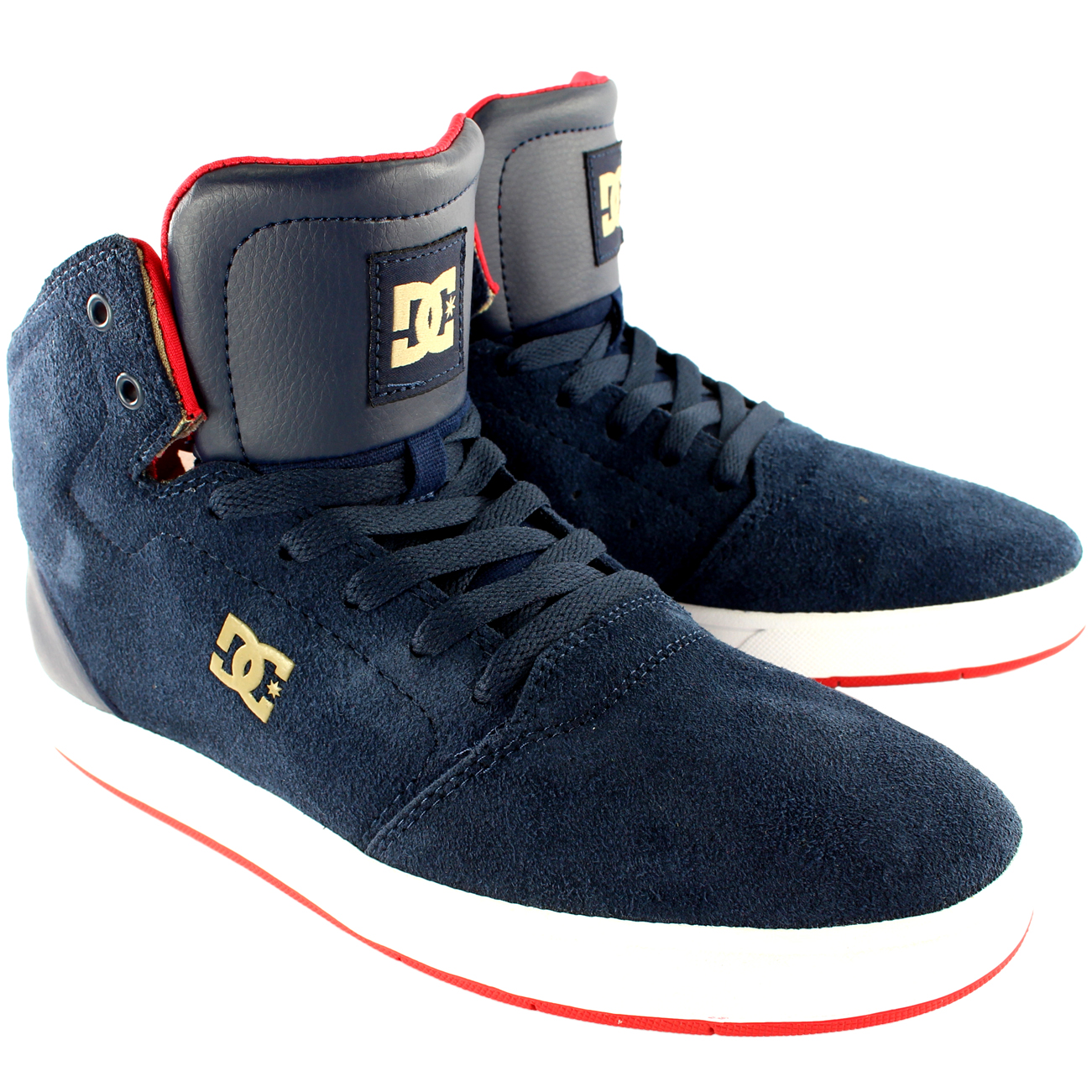 DC Shoes Crisis High Top Skate Shoes