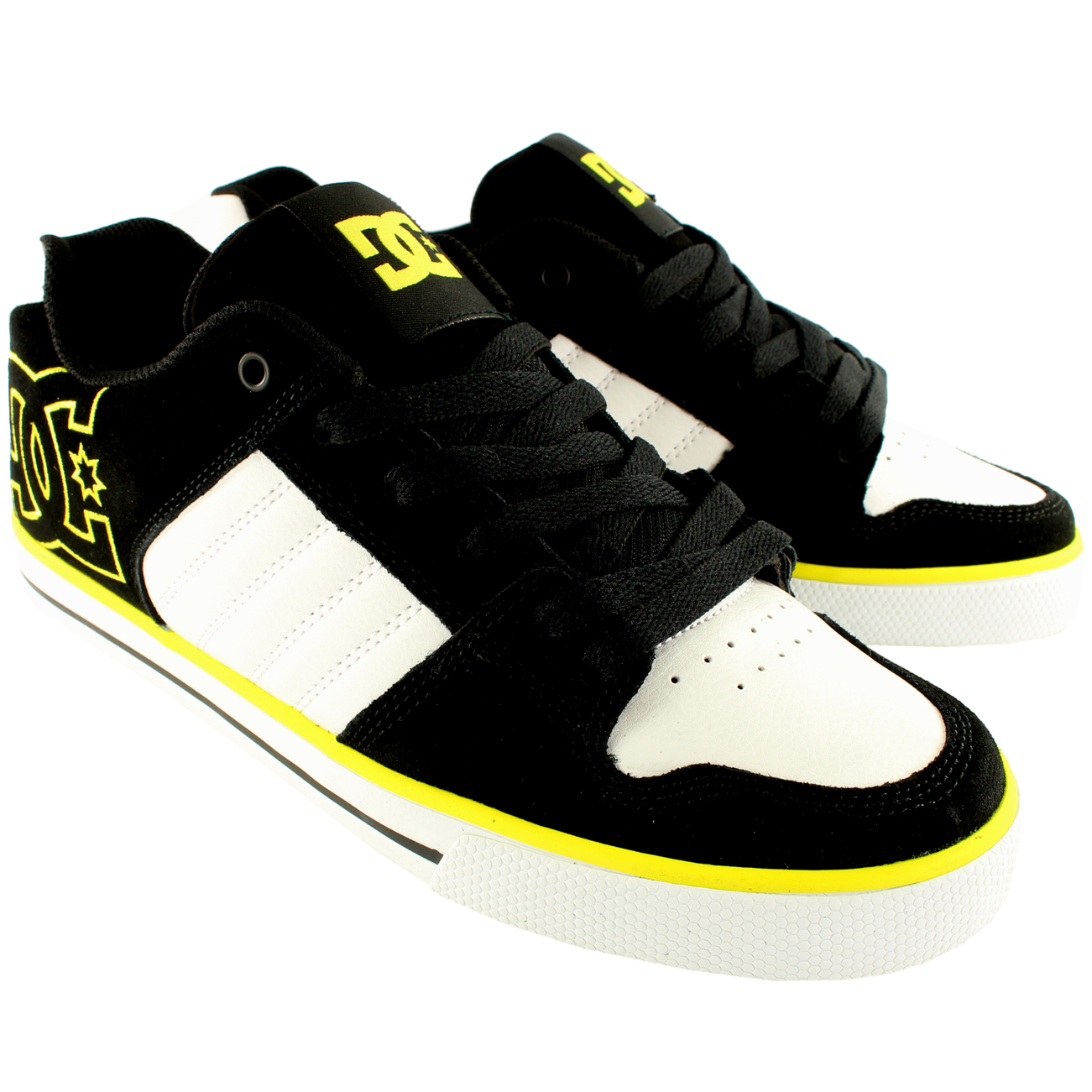 DC Shoes Chase Yellow Skate Shoes