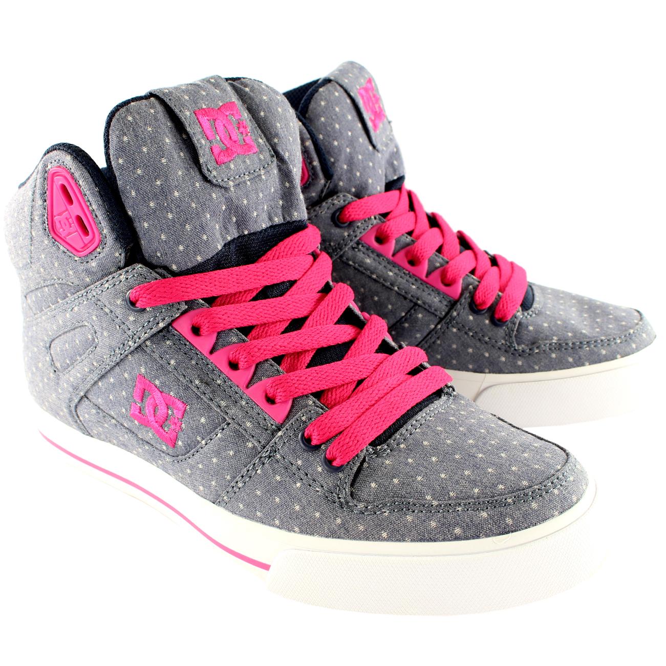 DC Shoes Spartan High TX High Top Skate Shoes