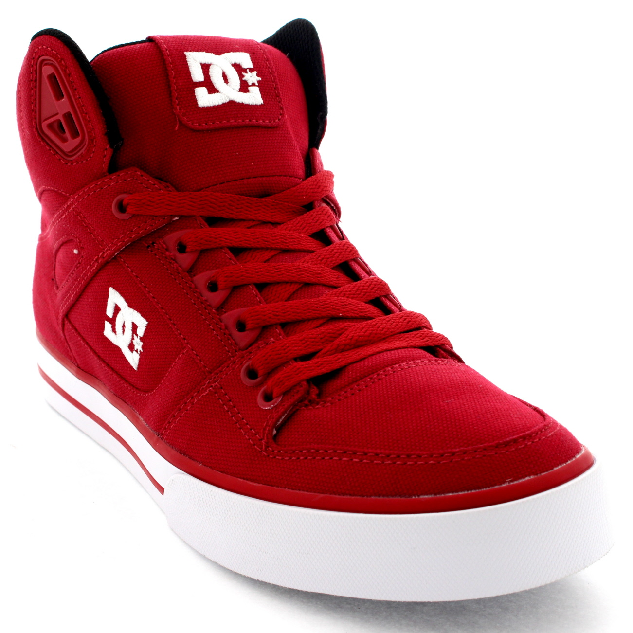 Red And Black High Top Dc Shoes