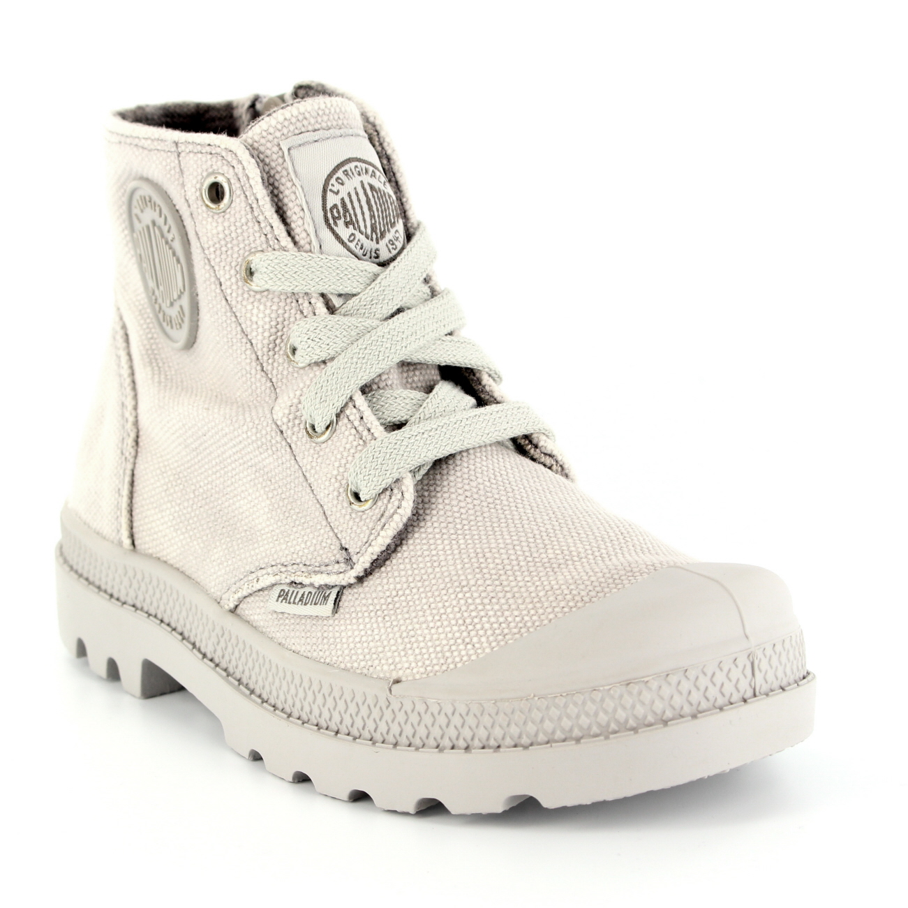 Unisex Kids Palladium Pampa Hi Zipper