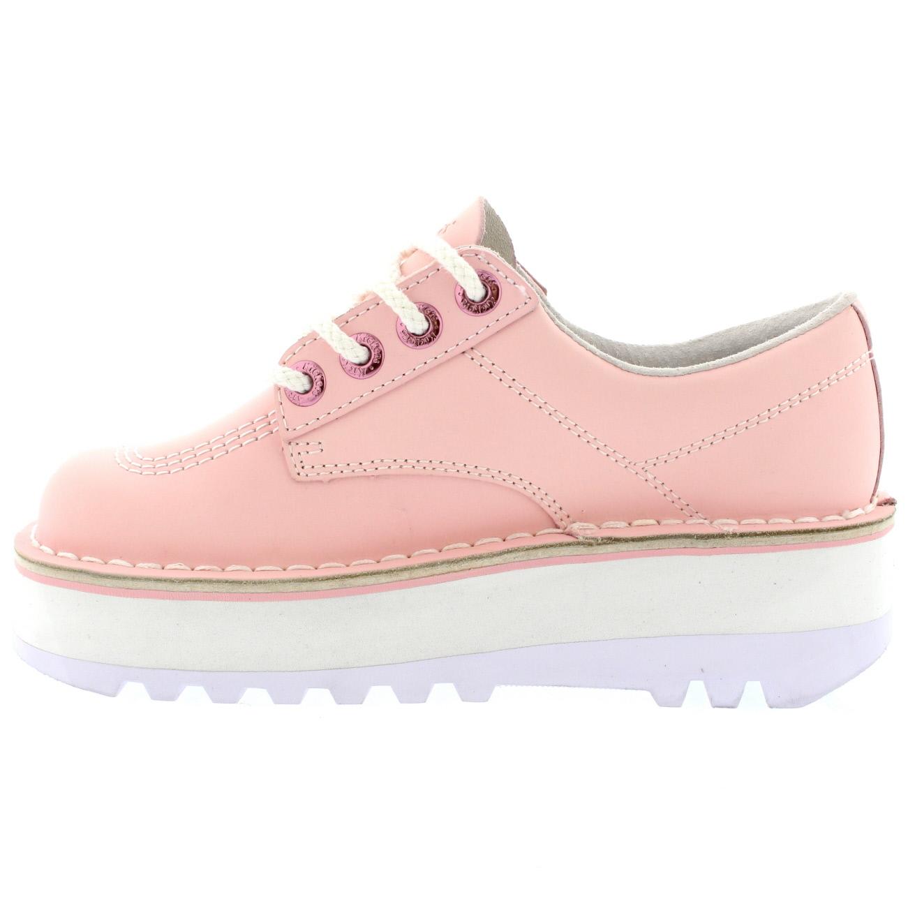 New Kickers Kick Hi Patent Dark Pink Boot In Pink Darkpink  Lyst