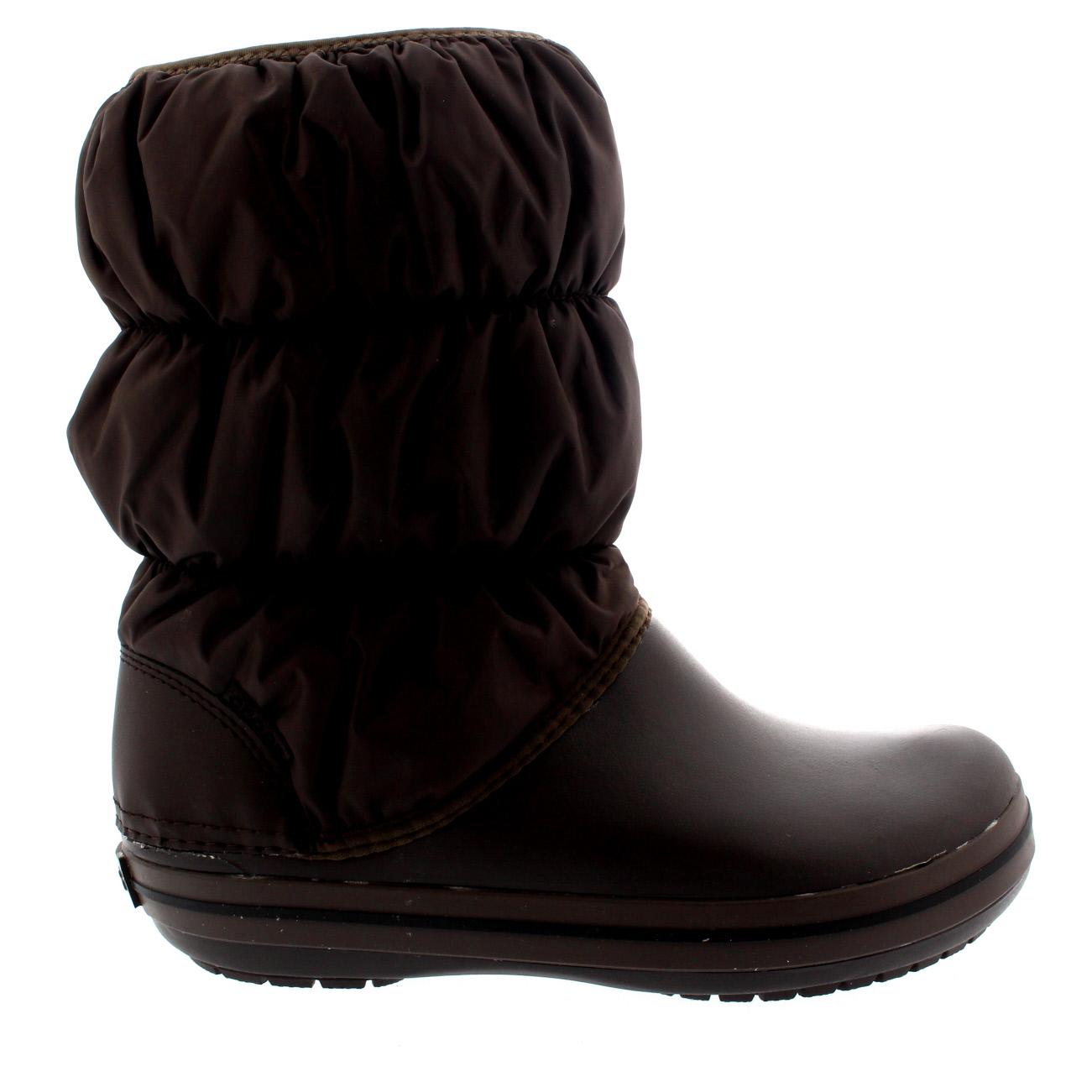 womens crocs winter puff boot snow winter warm