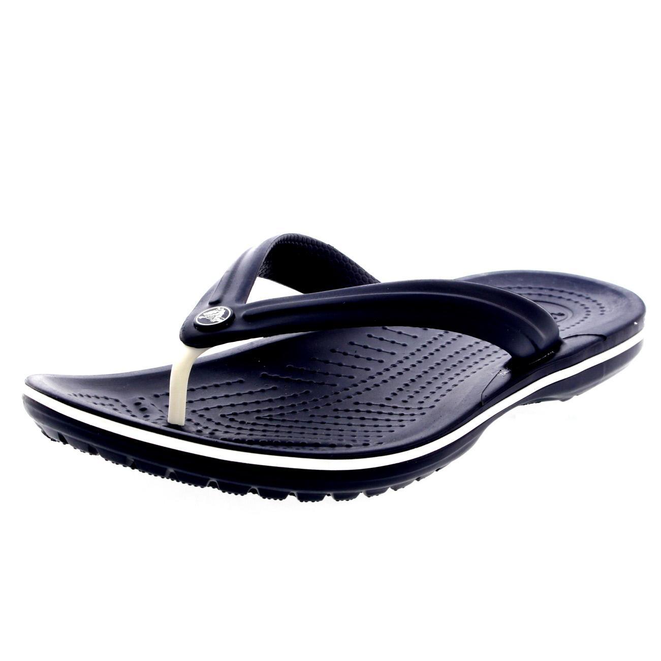 unisex mens womens crocs crocband flip slip on slipper beach flip flops uk 3 16 ebay. Black Bedroom Furniture Sets. Home Design Ideas