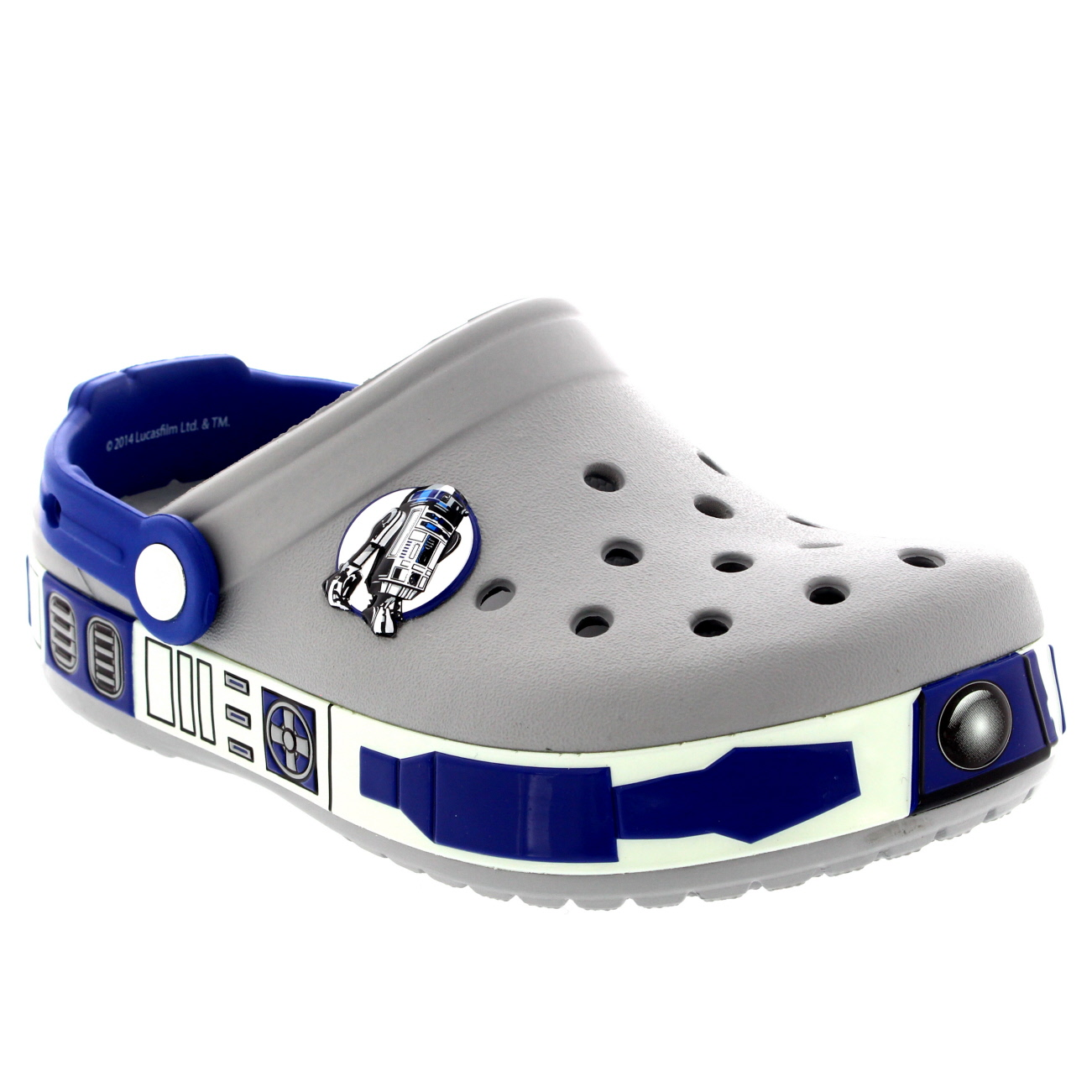 Kids Boys Crocs Star Wars R2D2