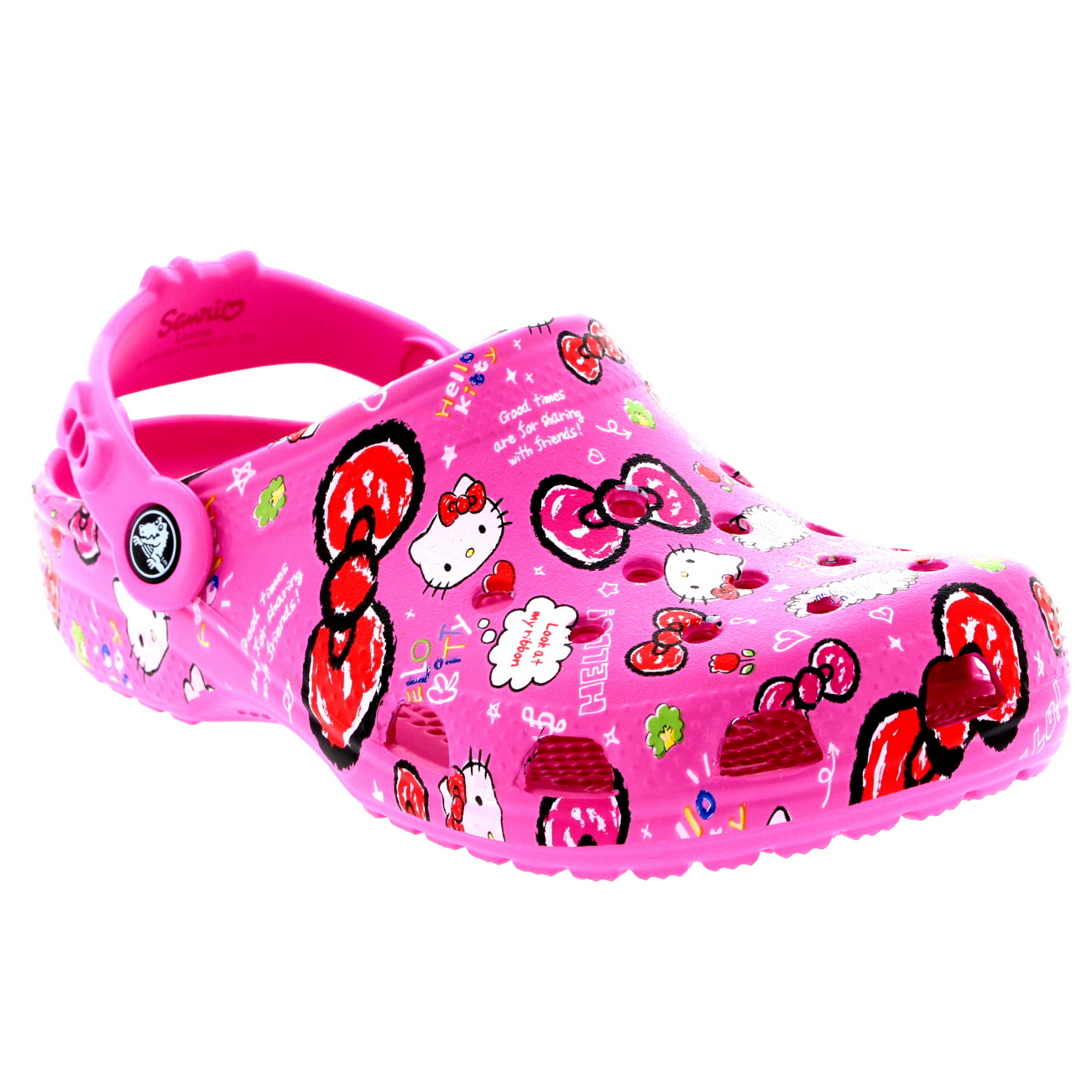 Kids Girls Crocs Hello Kitty Good Times
