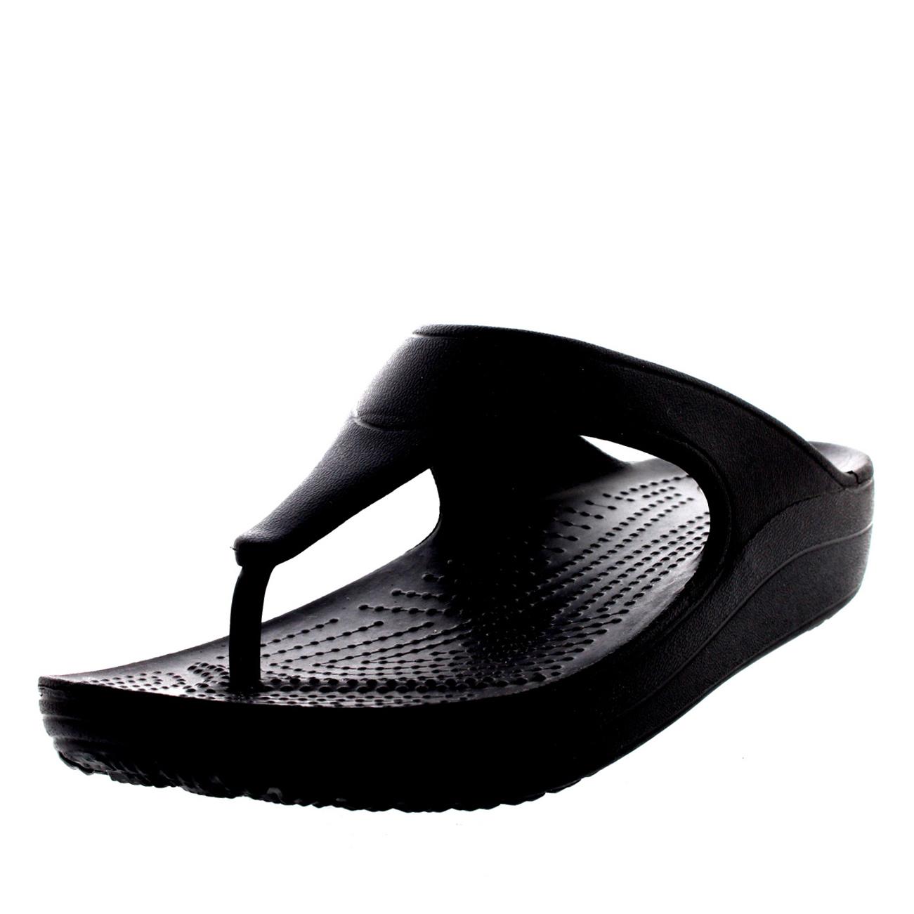 Chaussures femme Sandalettes et tongs Crocs Sloane Platform Flip CZMQXiQ7