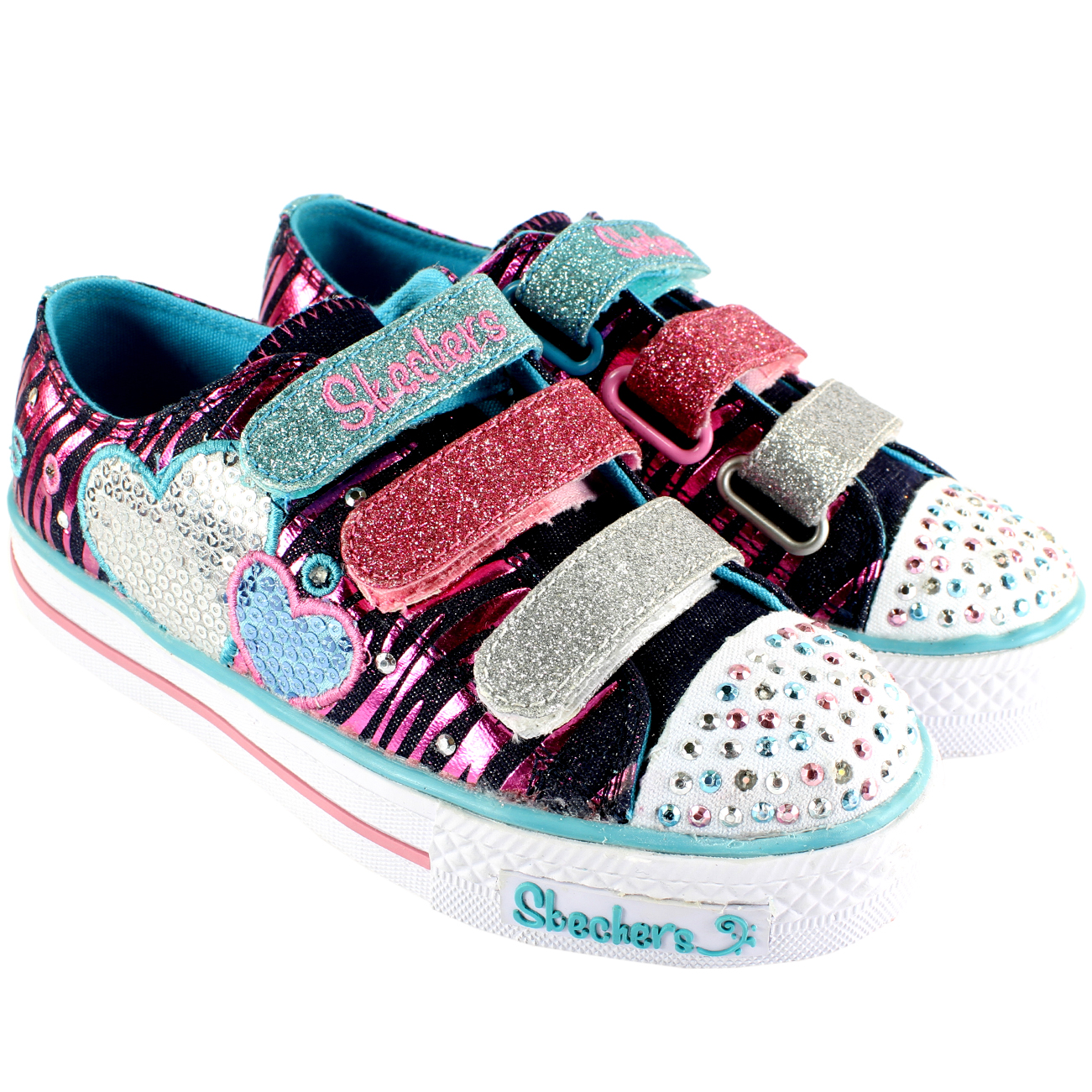 Skechers Triple Time Twinkle Toes