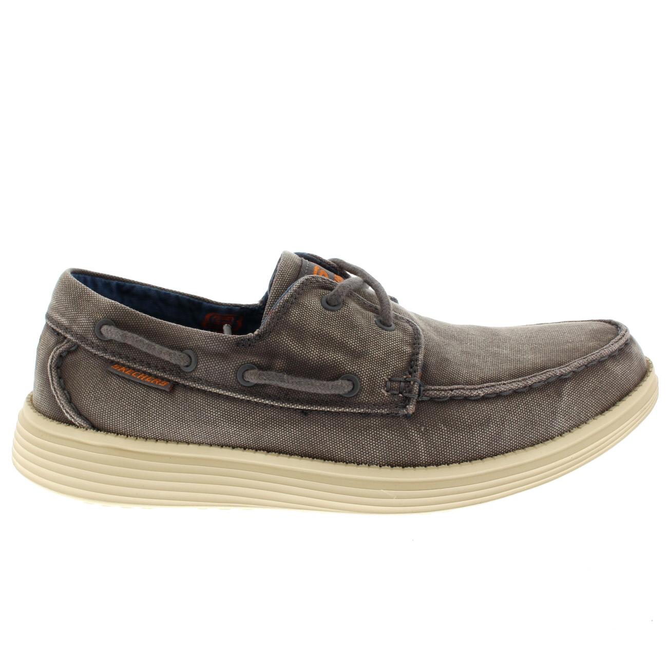 Skechers Détendue Chaussures Hommes Ajustement Uk P8vWcAMHE