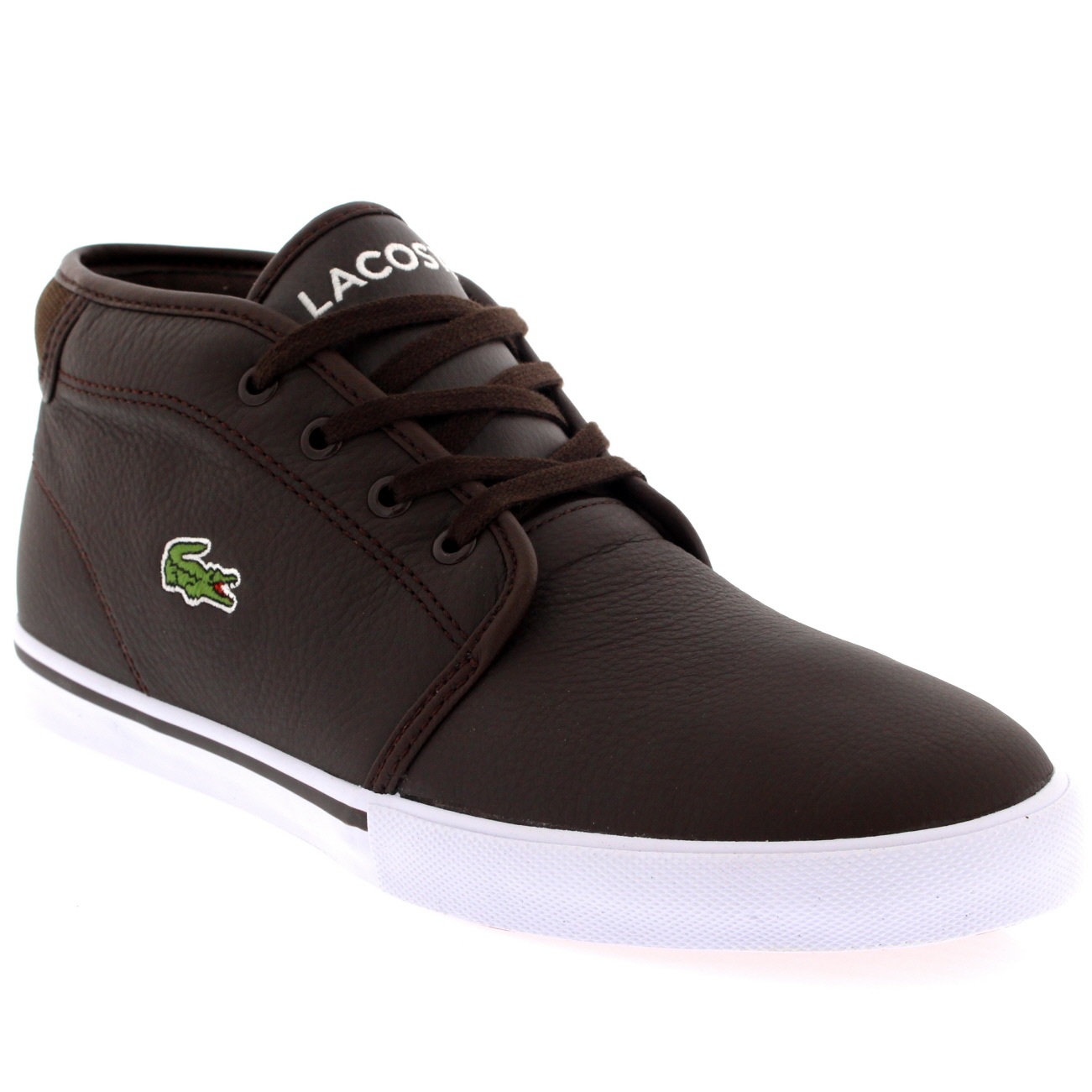 Lacoste Ampthill Leather Trainers