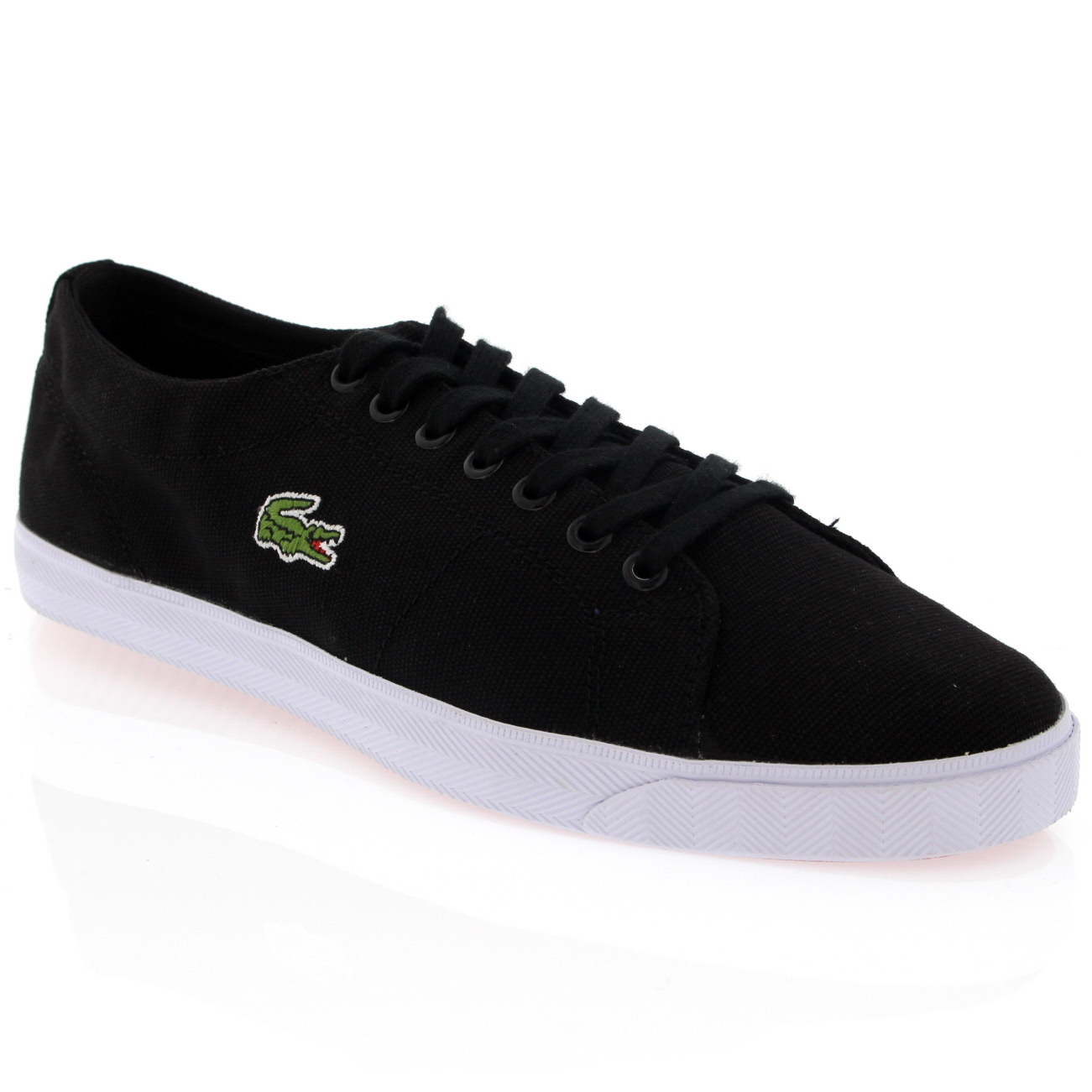 Lacoste Marcel Canvas Trainers