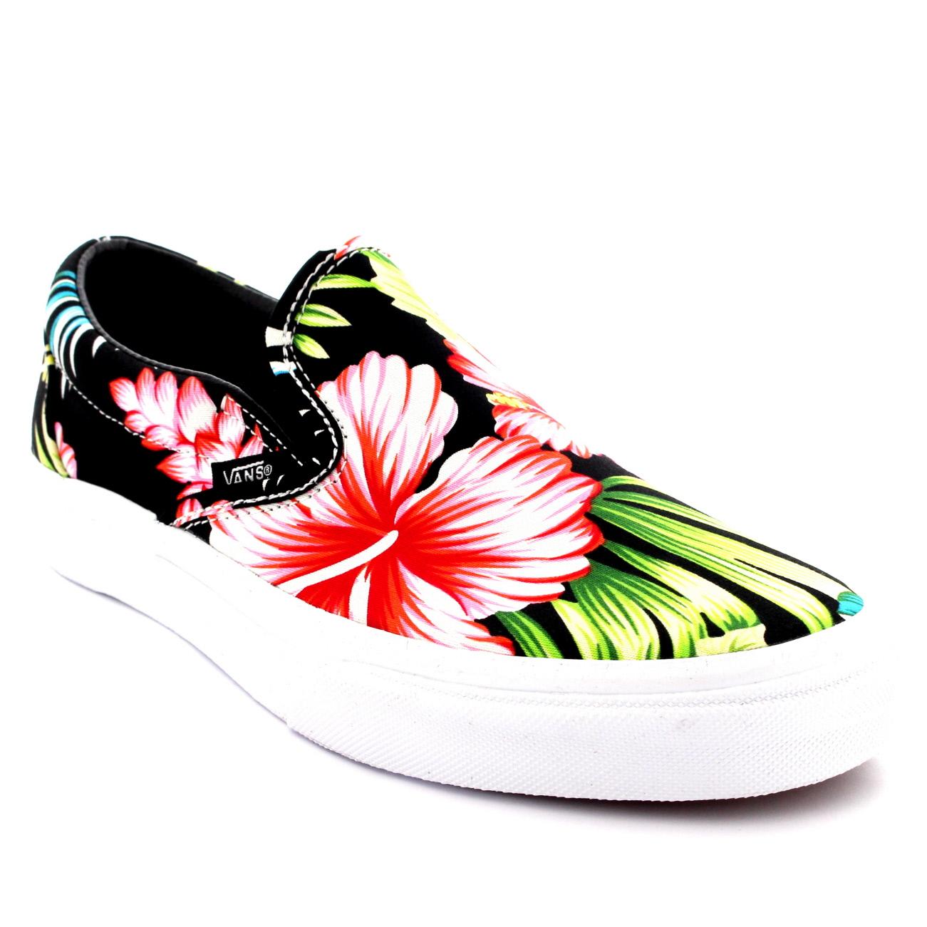 vans floral shoes uk