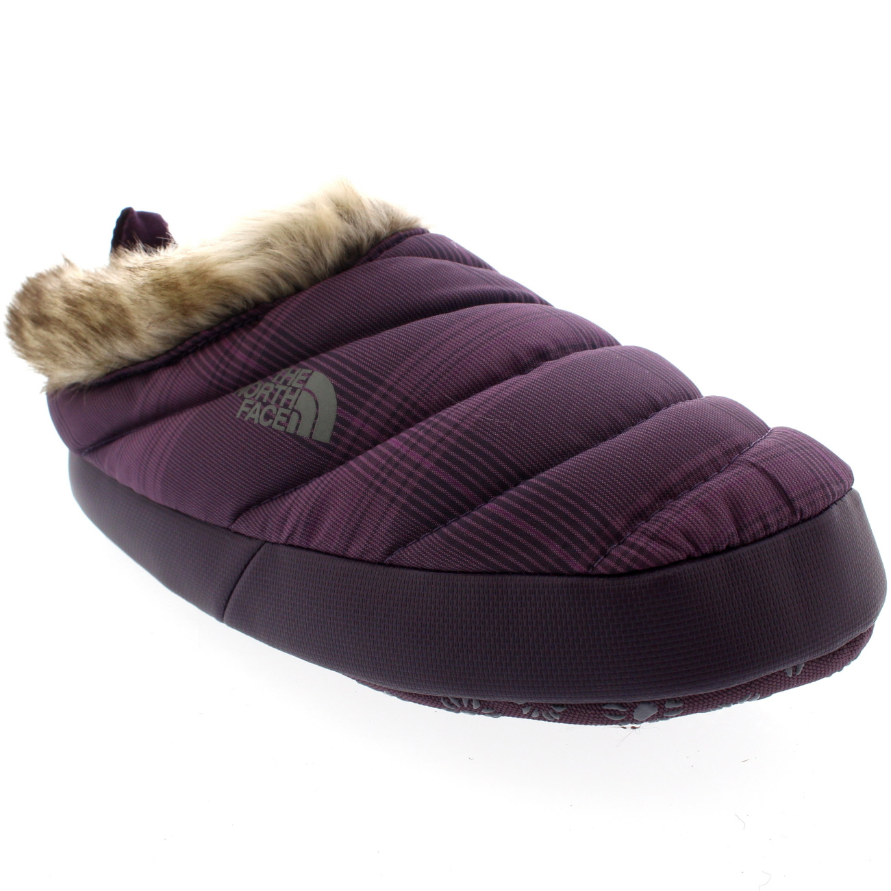 Womens-The-North-Face-Nuptse-Tent-Faux-Fur-  sc 1 st  eBay & Womens The North Face Nuptse Tent Faux Fur III Mules Winter ...
