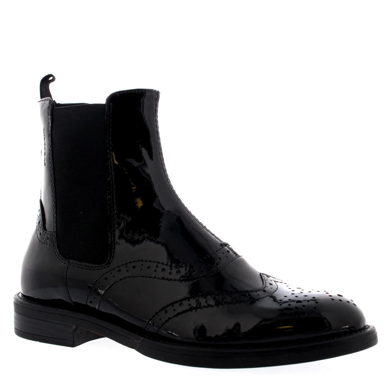 Vagabond Amina Patent Chelsea Boots