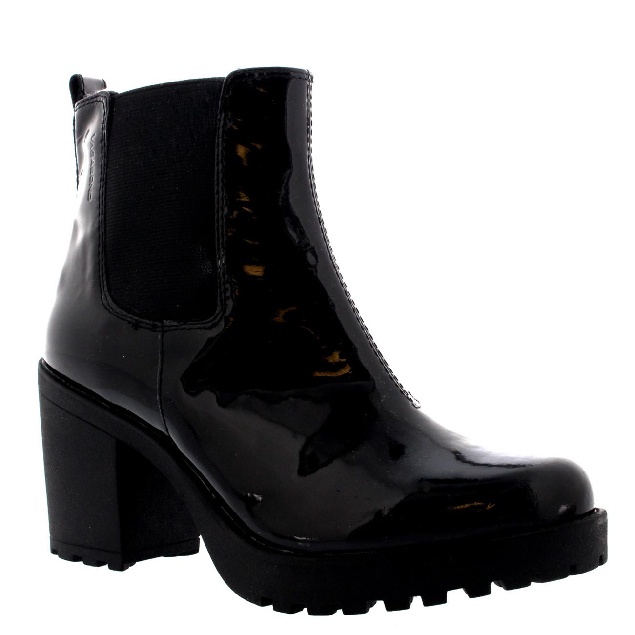 Vagabond Grace Patent Ankle Boots