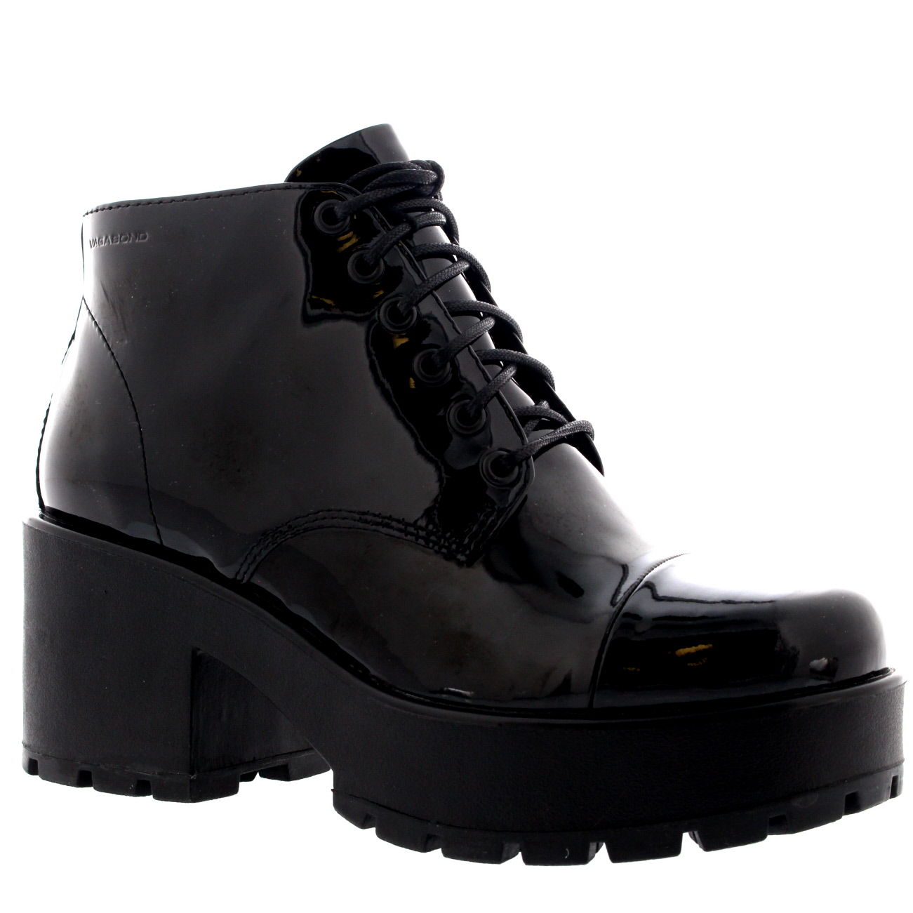 Vagabond Dioon Patent Ankle Boots