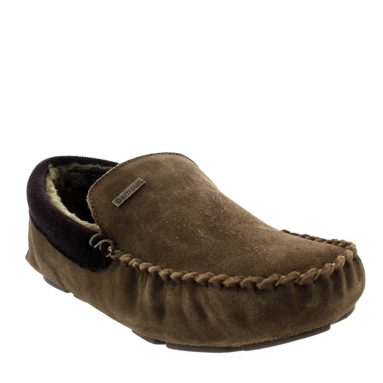 Barbour Monty Moccasin Fur Lined