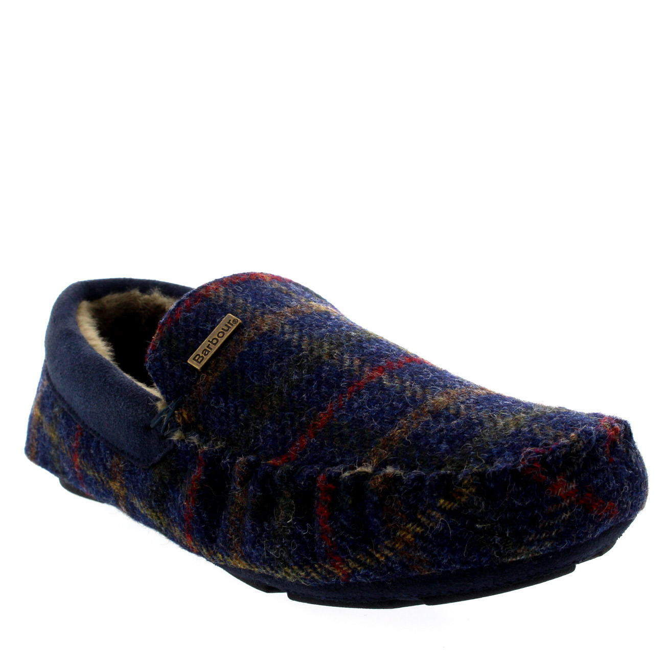 Barbour Monty Slippers Tartan