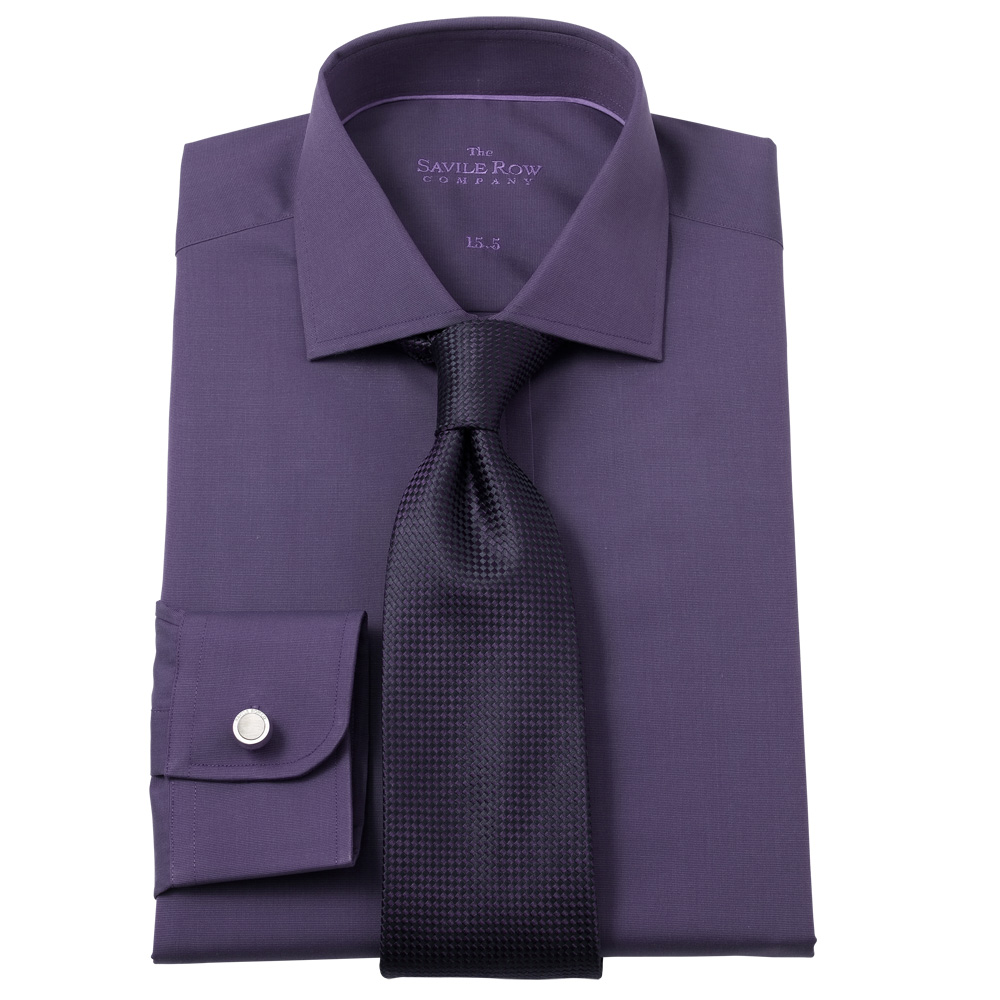 Savile-Row-Mens-Dark-Slim-Fit-Smart-Casual-Shirts-In-3-Colours