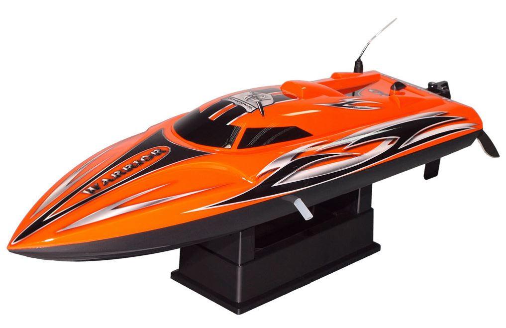 Joysway Offshore Warrior Lite Rtr Rc Boat Orange 2 4ghz