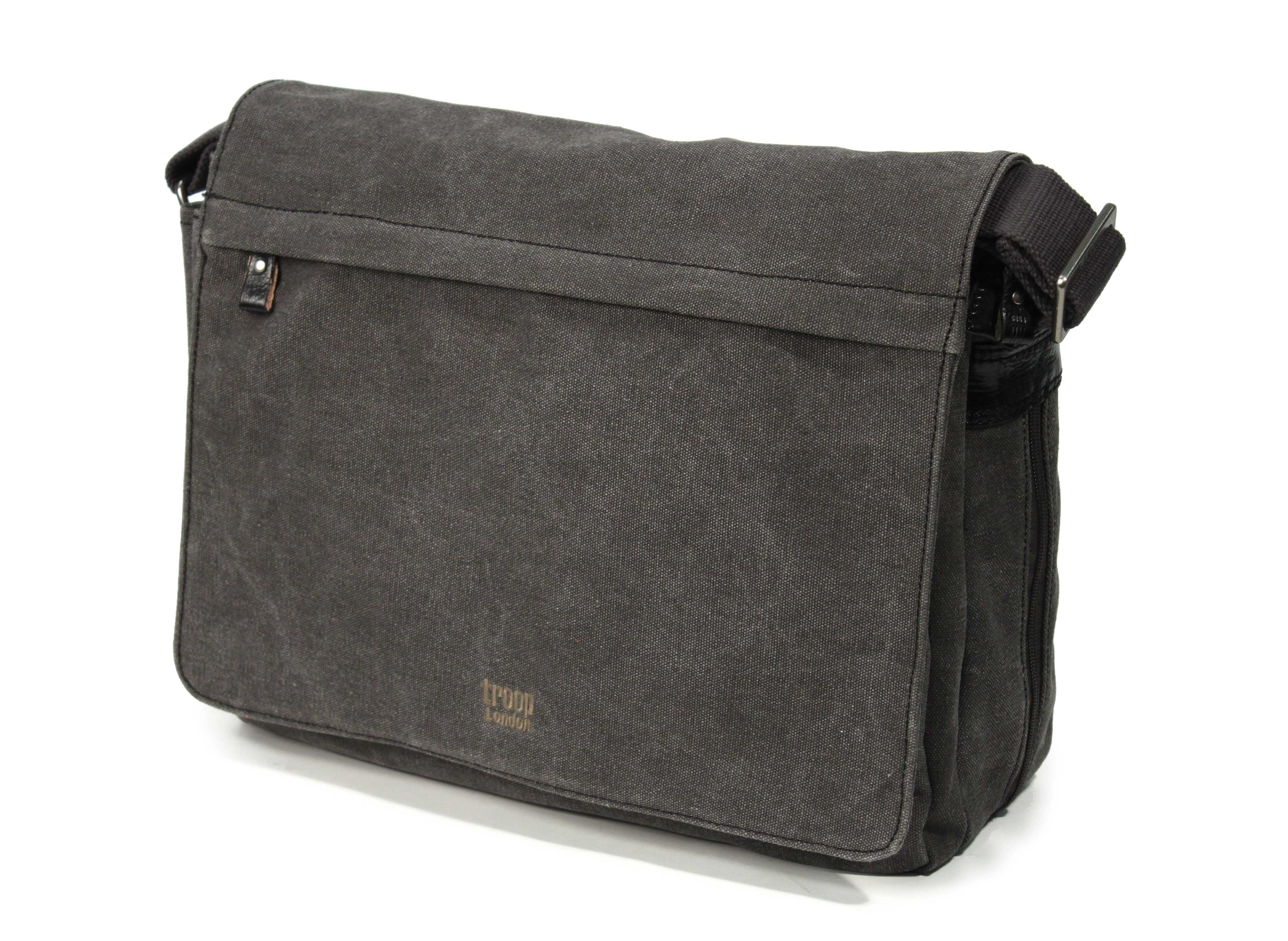 Troop London Canvas Messenger Shoulder Bag 55
