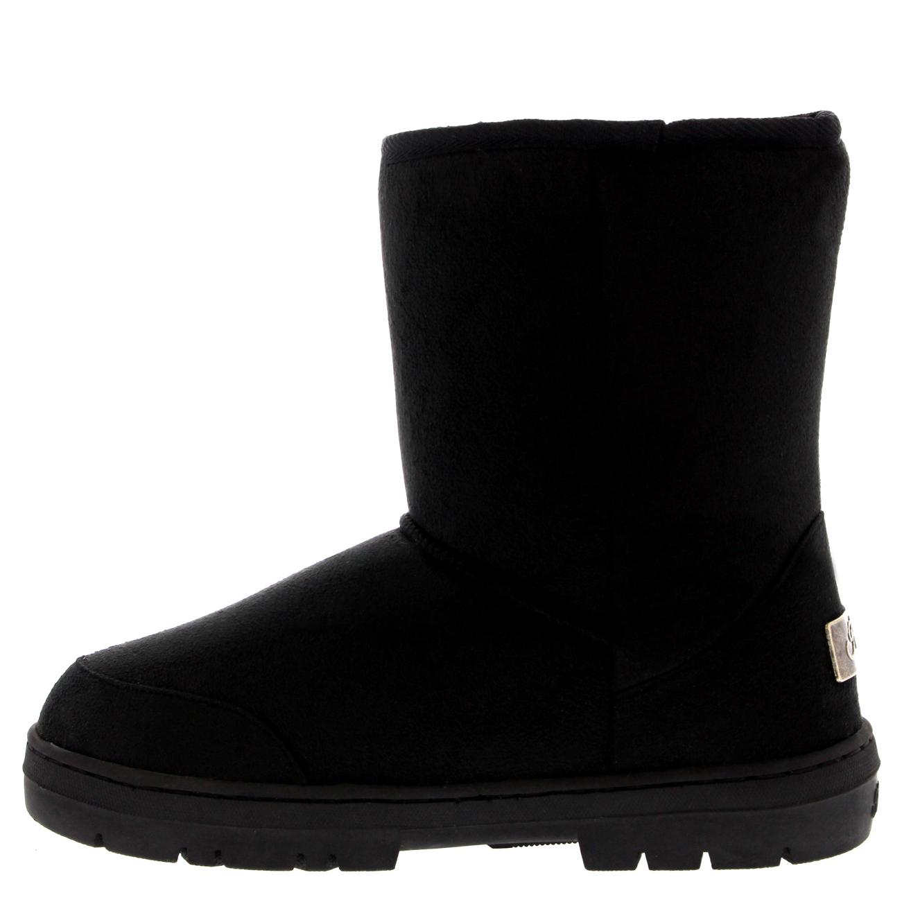 Creative Bearpaw Bearpaw Emma Short Women Suede Brown Winter Boot Boots