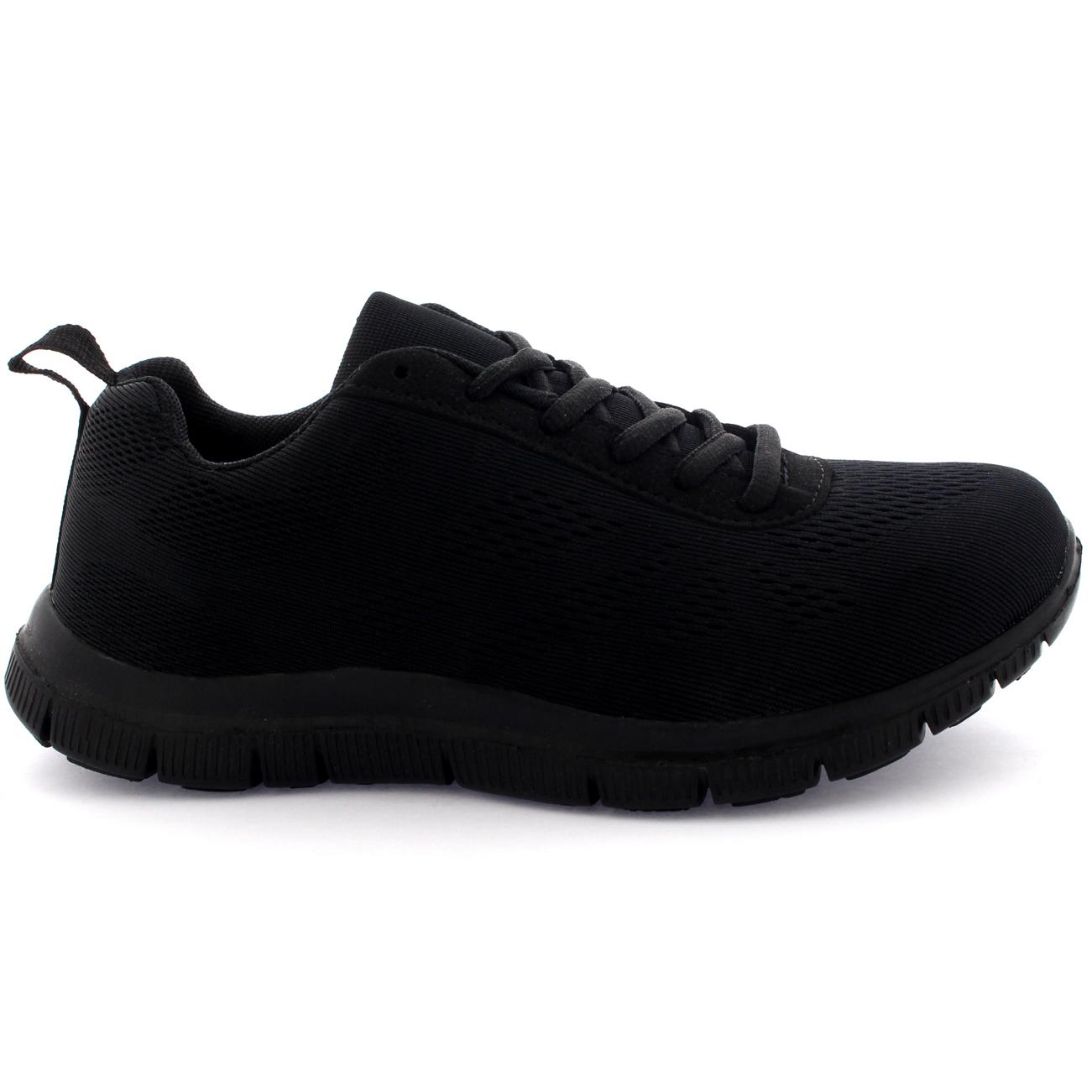 Ladies Get Fit Mesh Running Trainers Athletic Walk Gym Shoes Sport Run UK 3-9