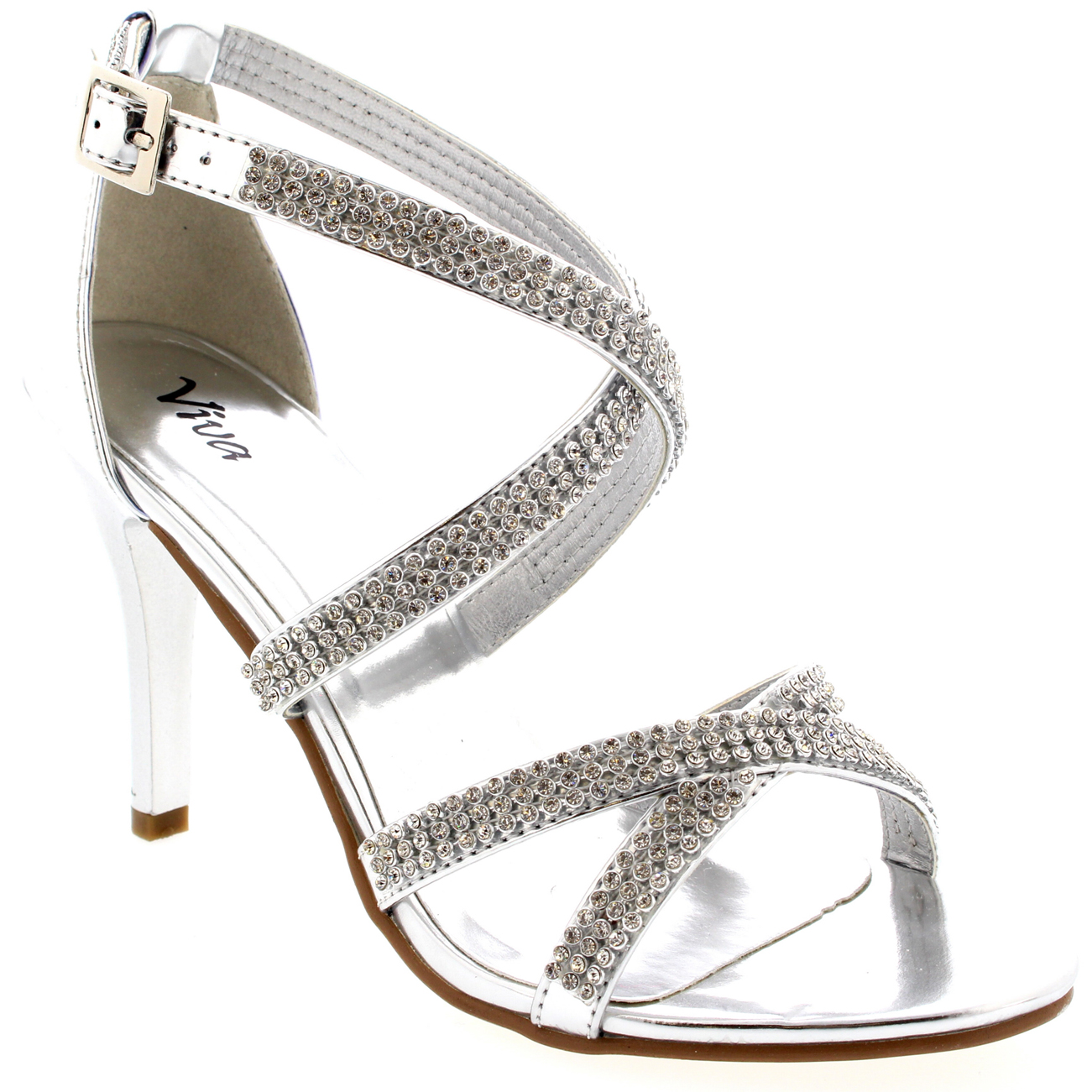 Ladies-Smart-Formal-Dress-Ankle-Strap-Evening-Peep-Toe-Low-Mid-Heels-All-Sizes