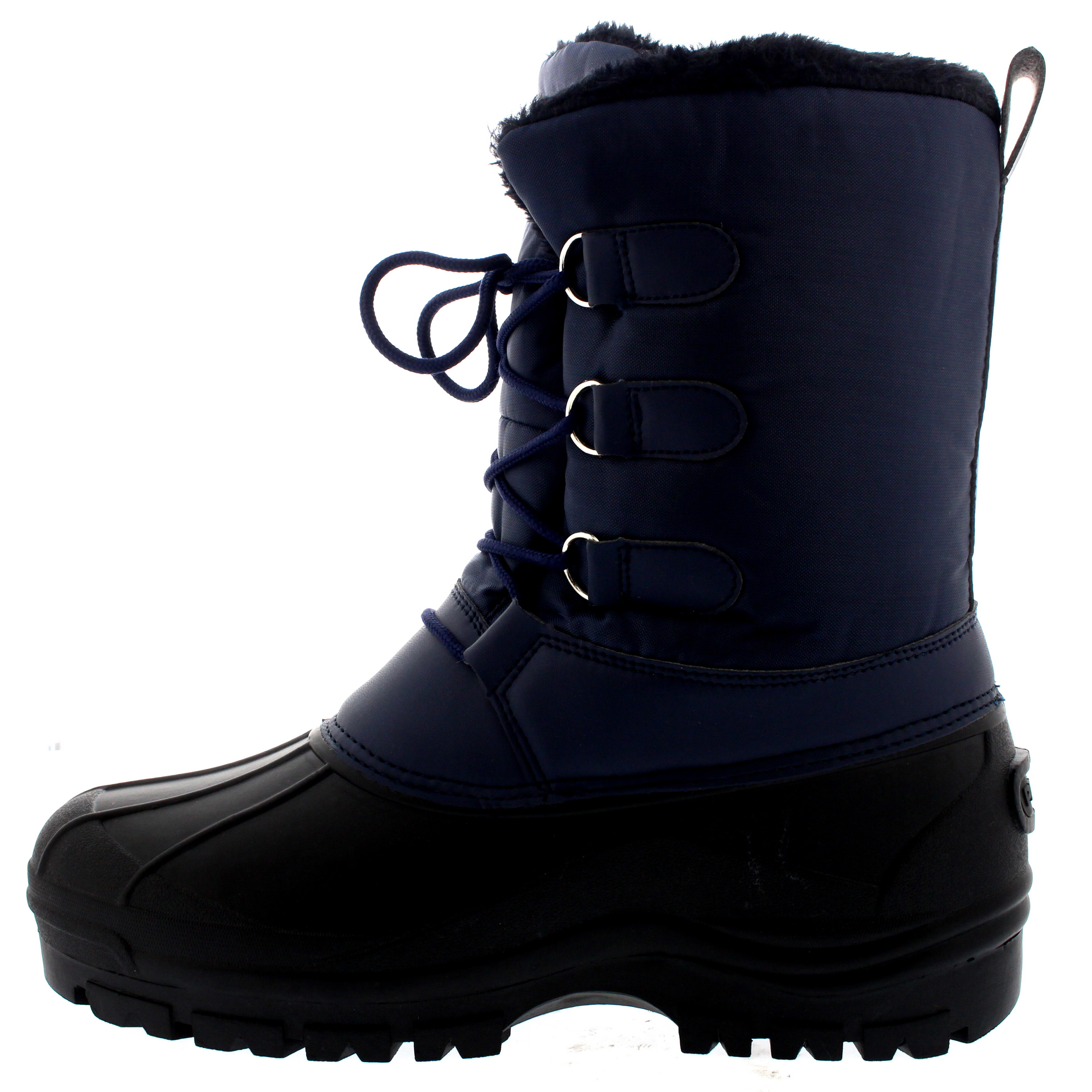 mens muck lace up snow casual duck warm