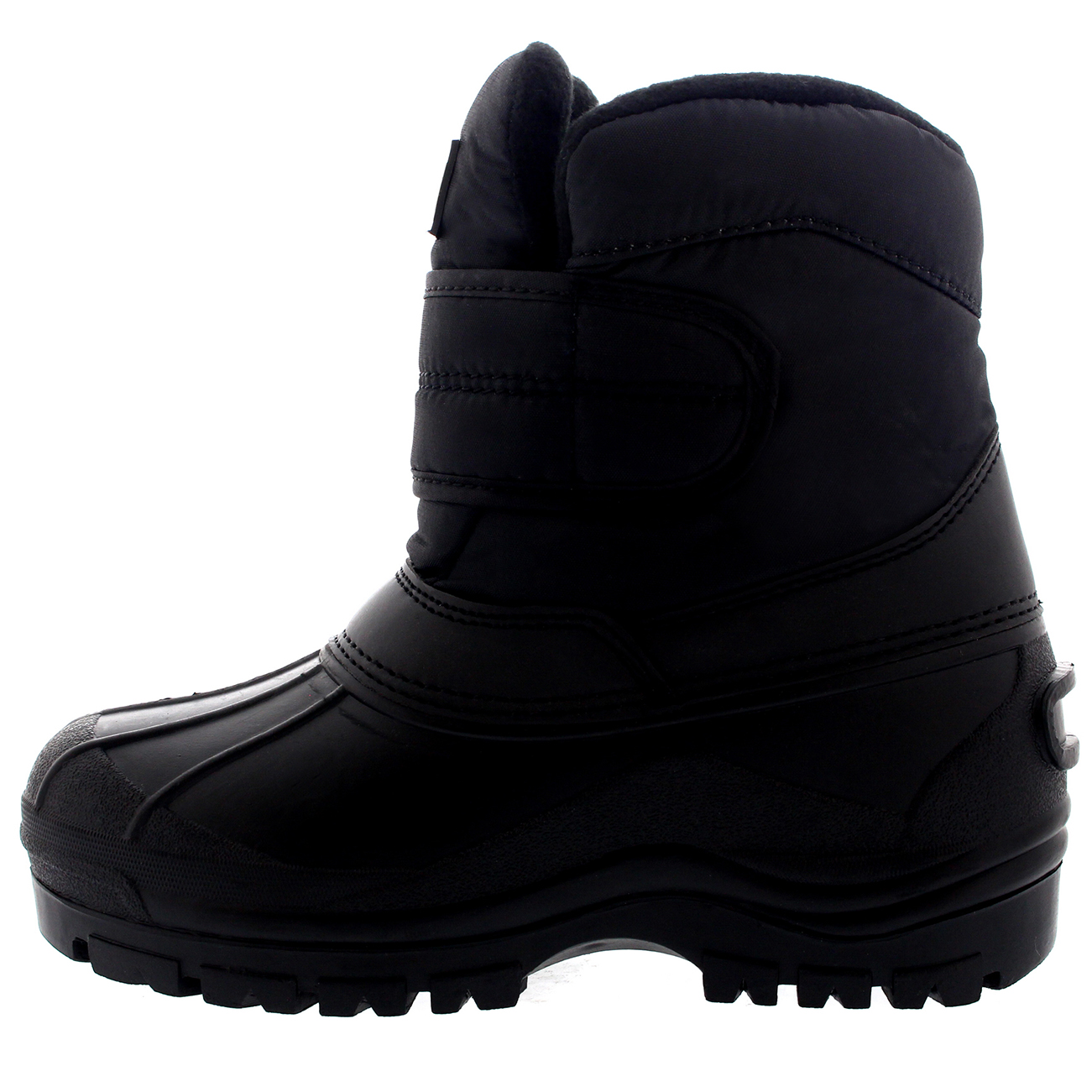 Unisex Kids Nylon Winter Rain Snow Hiker Waterproof Single Strap Boot All Sizes
