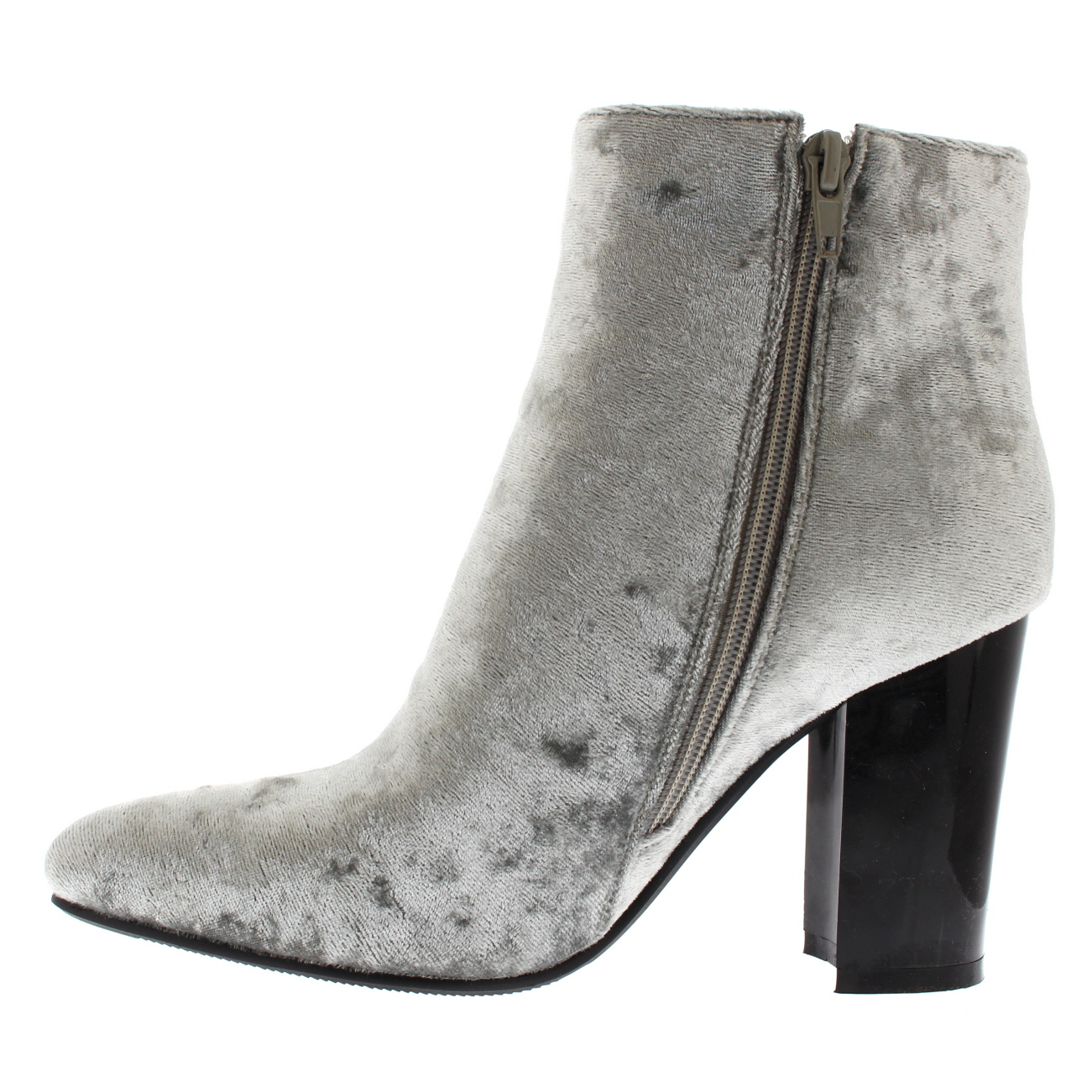 Ladies On Trend Sassy High Heel Biker Autumn Chelsea Pixie Ankle Boots All Sizes