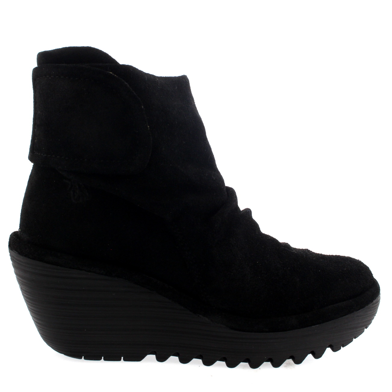 Ladies Fly London Yegi Snow Casual Wedge Shoes Winter Low Heel Boots All Sizes