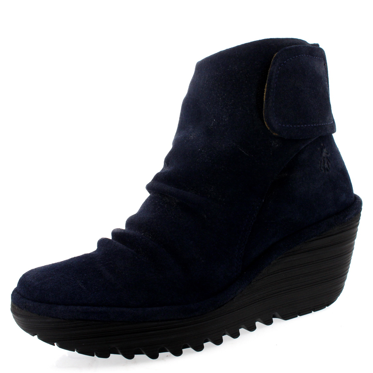Ladies Fly London Yegi Snow Casual Wedge Shoes Winter Low Heel ...