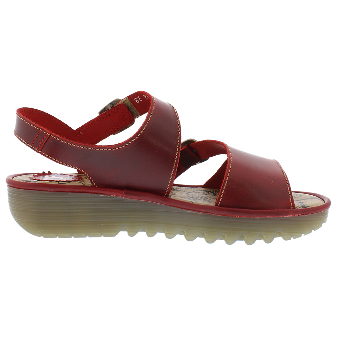 Ladies Fly London Enat Bridle Peep Toe Holiday Fashion Office Sandals All Sizes