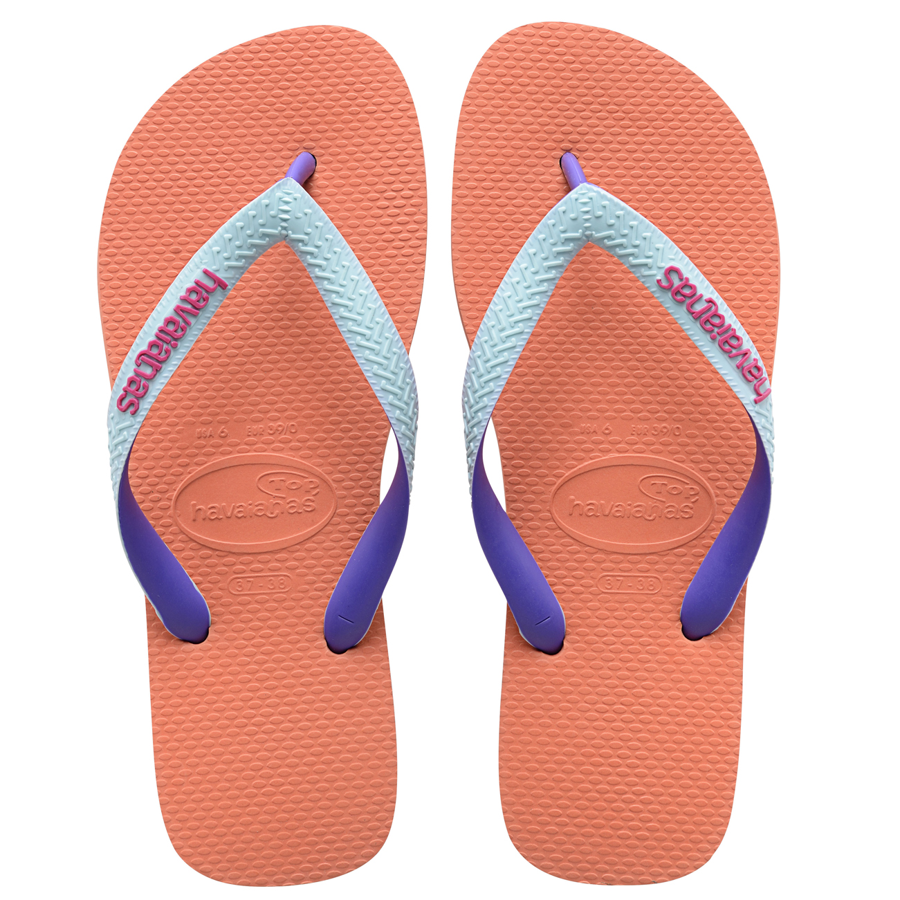 Ladies Havaianas Top Mix Sandal Casual Jelly Holiday ...