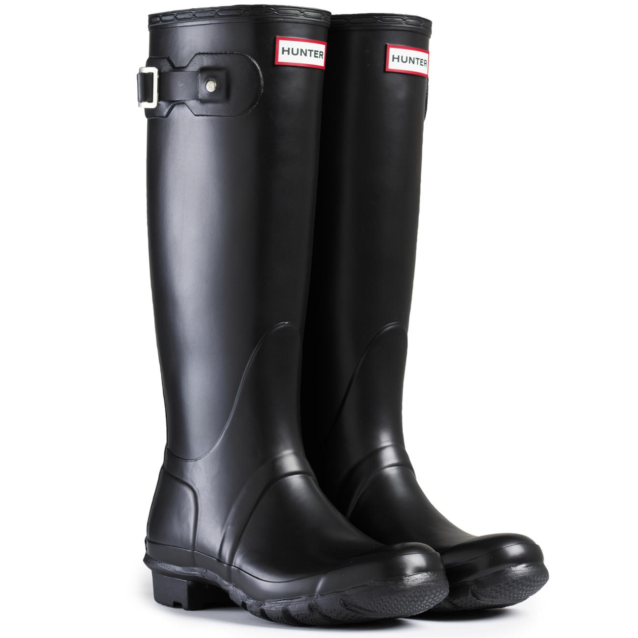 Creative Womens Hunter Original Slim Two Toned Wellington Festival Snow Rain Boots UK 3-8 | EBay